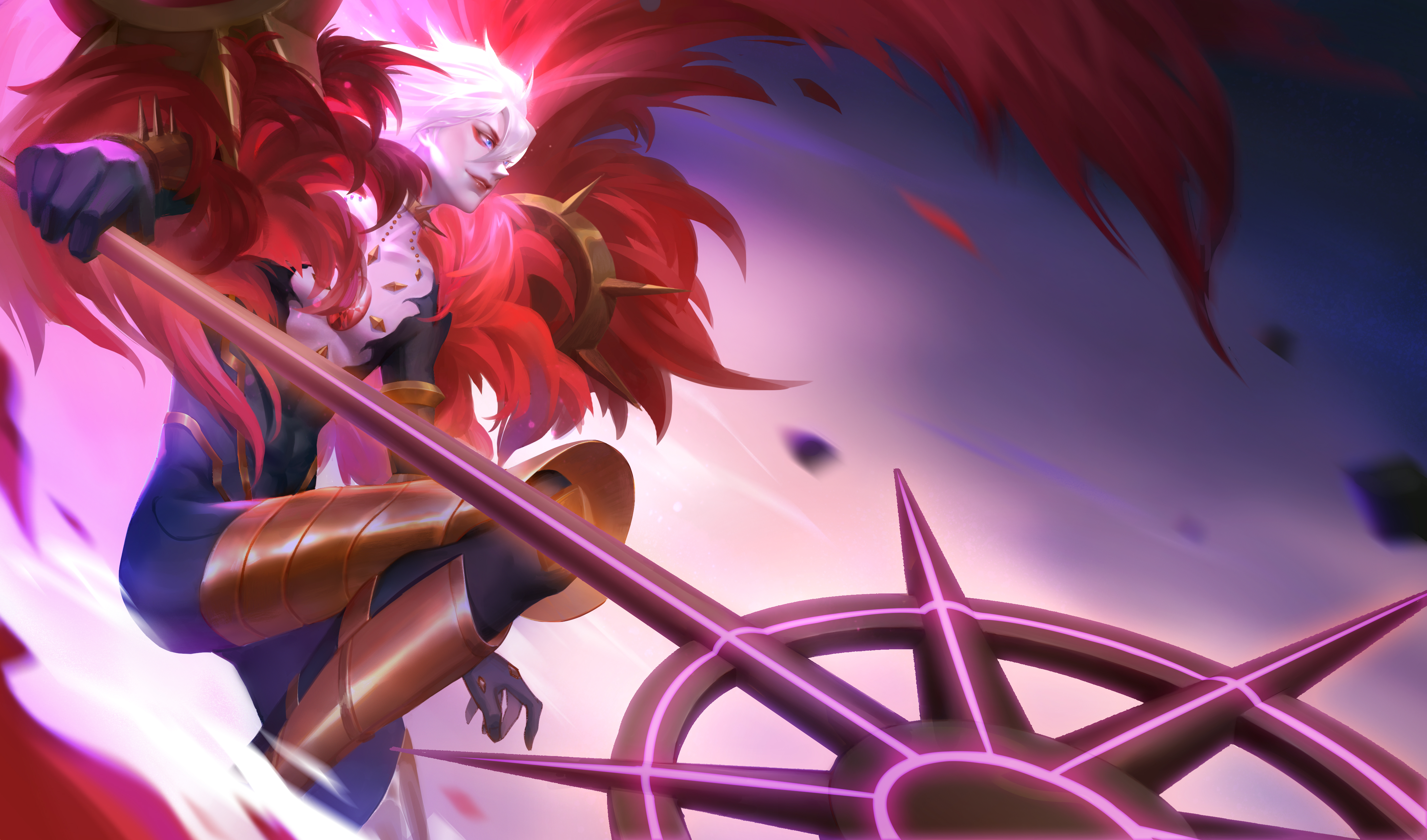 Lancer Of Red Fate Apocrypha Hd Anime 4k Wallpapers Images Backgrounds Photos And Pictures