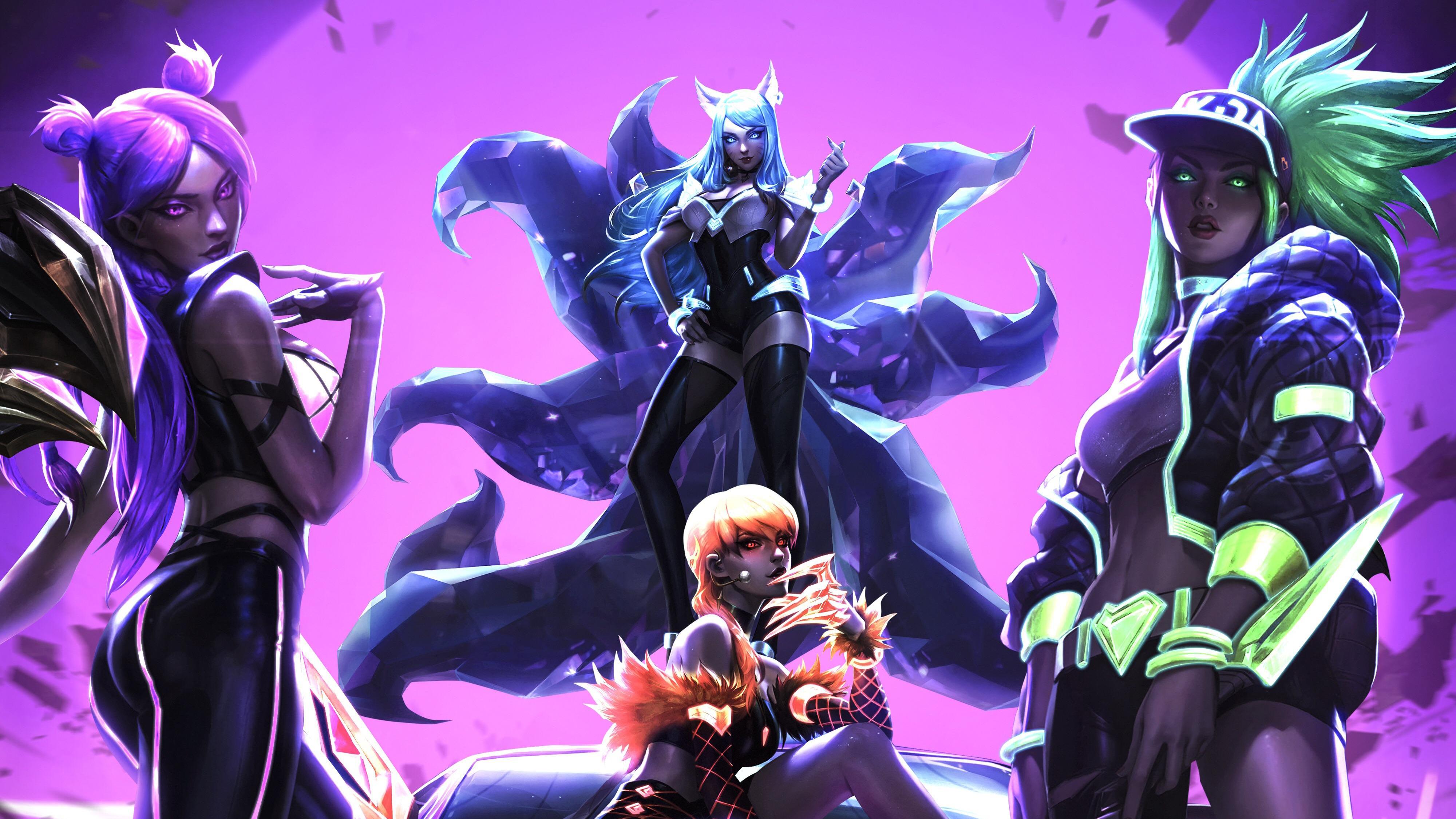 League Of Legends Fan Art 4k Hd Games 4k Wallpapers Images