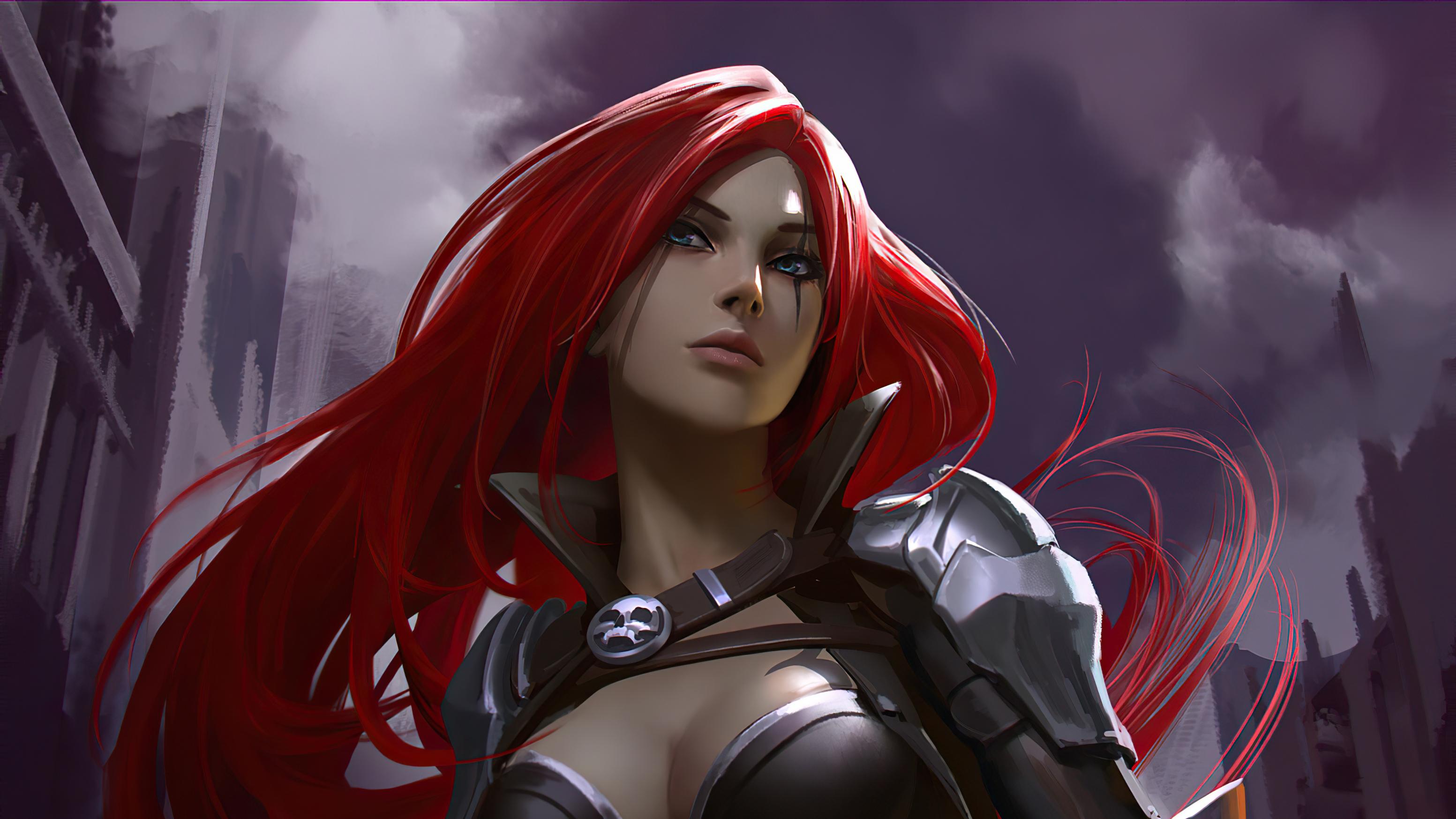 2560x1700 League Of Legends Katarina 4k ...