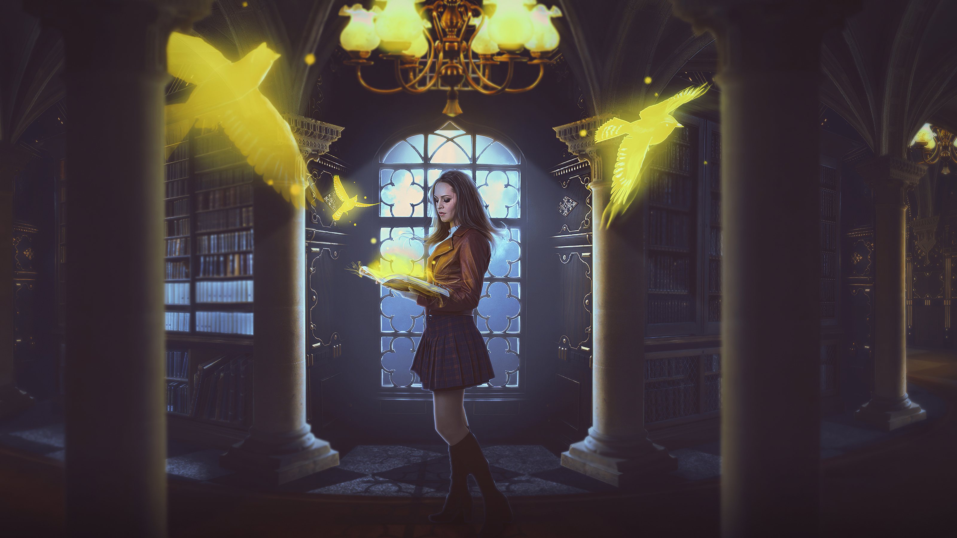 Learning Magic Hd Artist 4k Wallpapers Images Backgrounds Photos And Pictures
