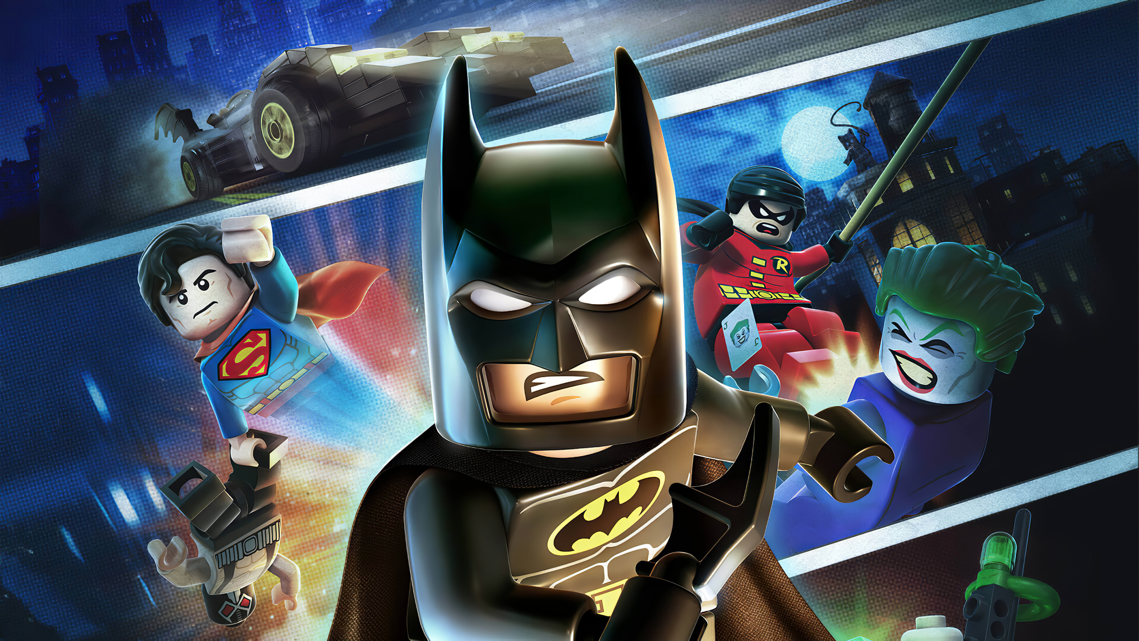 Lego Batman Dc Super Heroes Hd Games 4k Wallpapers Images Backgrounds Photos And Pictures