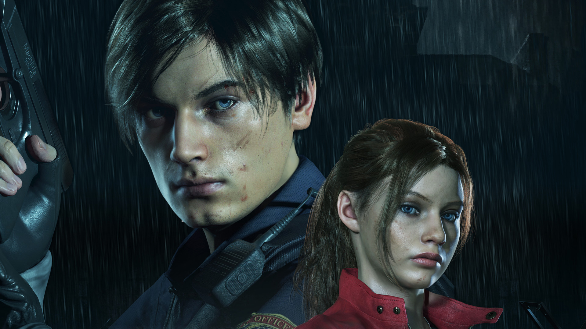 Leon And Claire In Resident Evil 2 Hd Games 4k Wallpapers