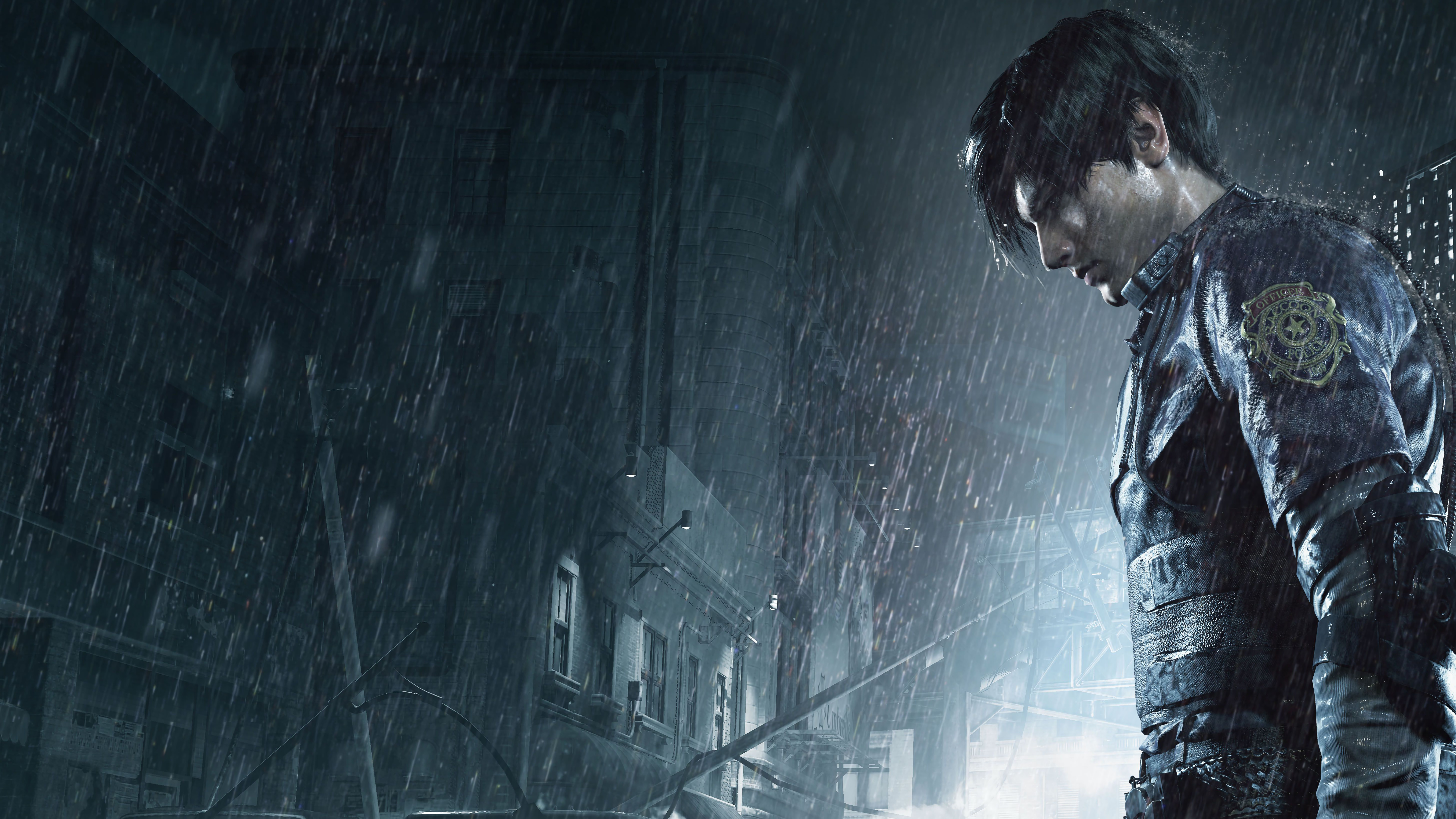 Leon Kennedy Resident Evil 2 Hd Games 4k Wallpapers Images