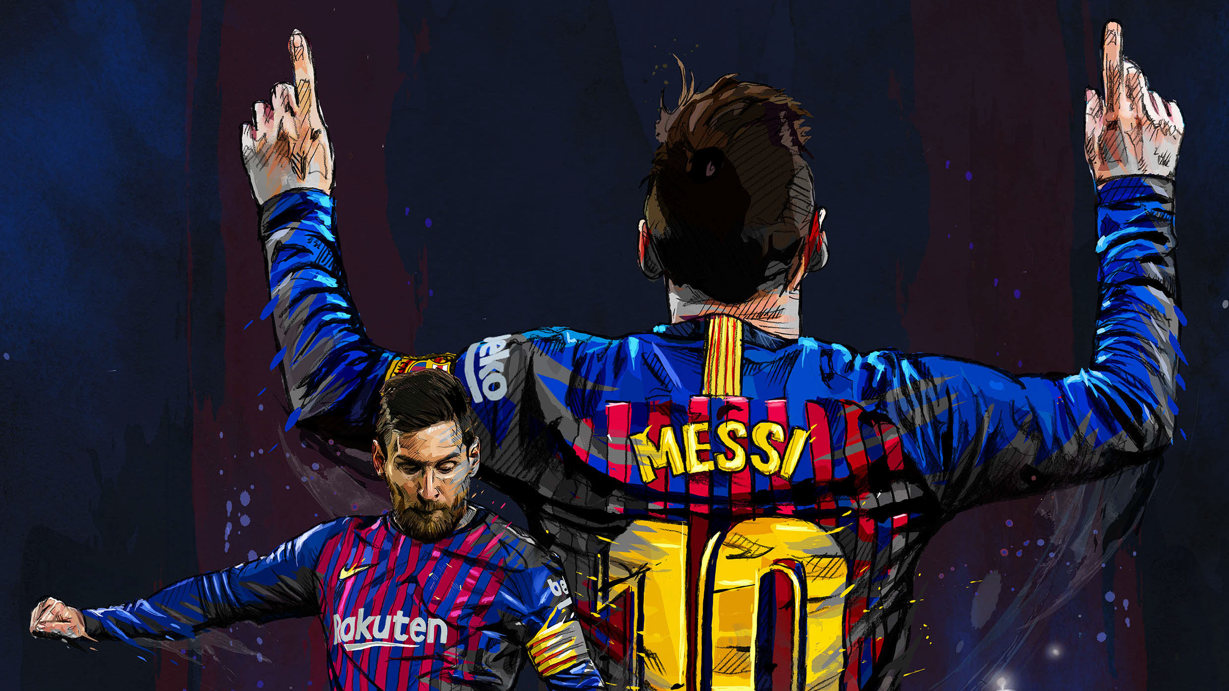 Lionel Messi Fc Art Hd Sports 4k Wallpapers Images Backgrounds Photos And Pictures