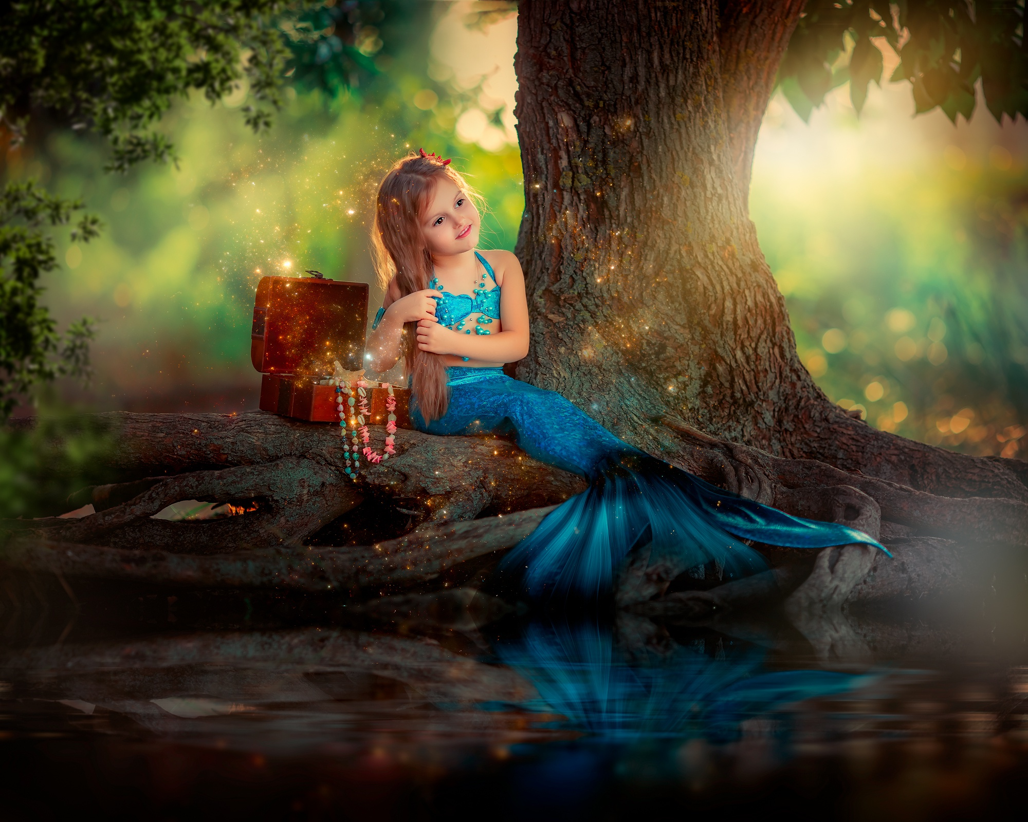 Little Mermaid Girl Hd Cute 4k Wallpapers Images Backgrounds Photos And Pictures
