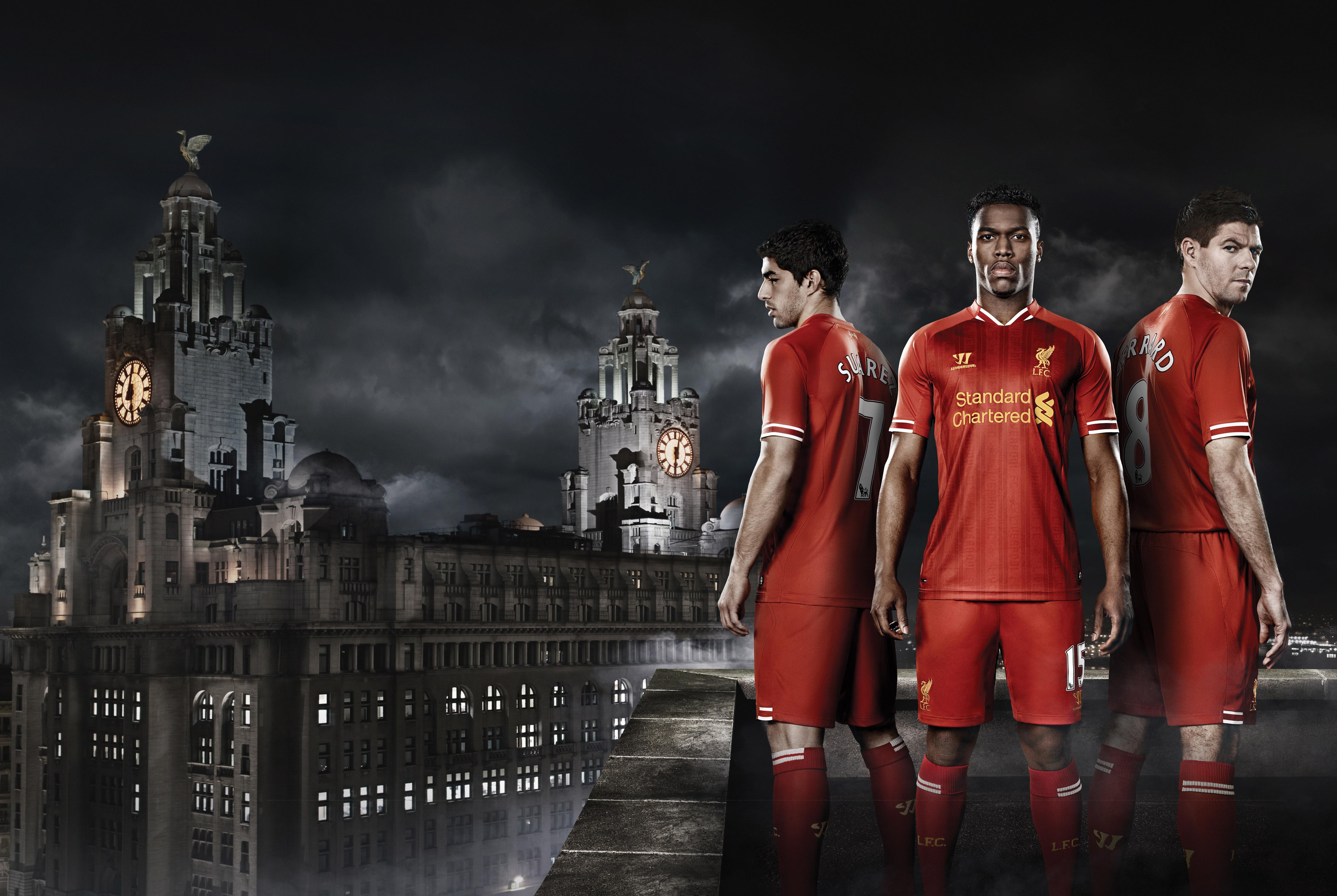 Liverpool Fc Daniel Sturridge Luis Suarez Steven Gerrard Hd Sports 4k Wallpapers Images Backgrounds Photos And Pictures
