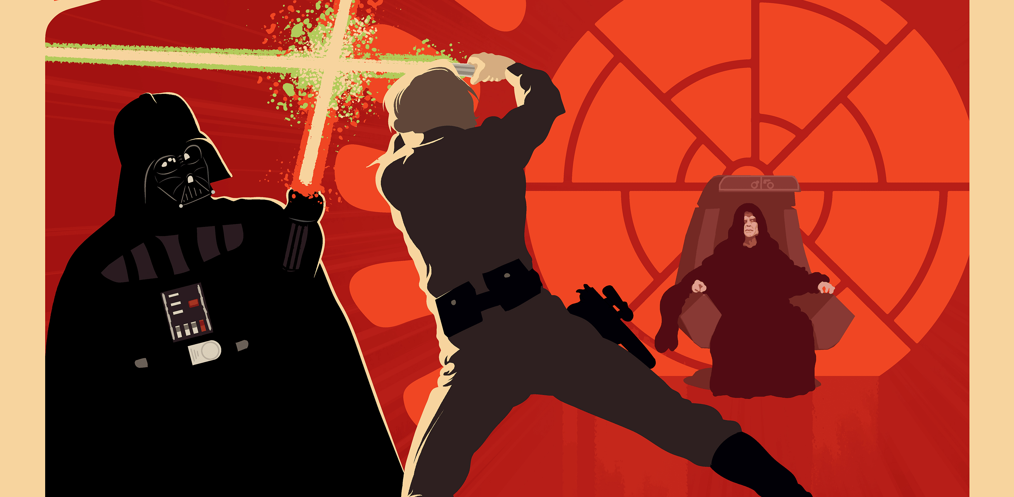 Luke And Darth Vader Fan Artwork Hd Movies 4k Wallpapers Images