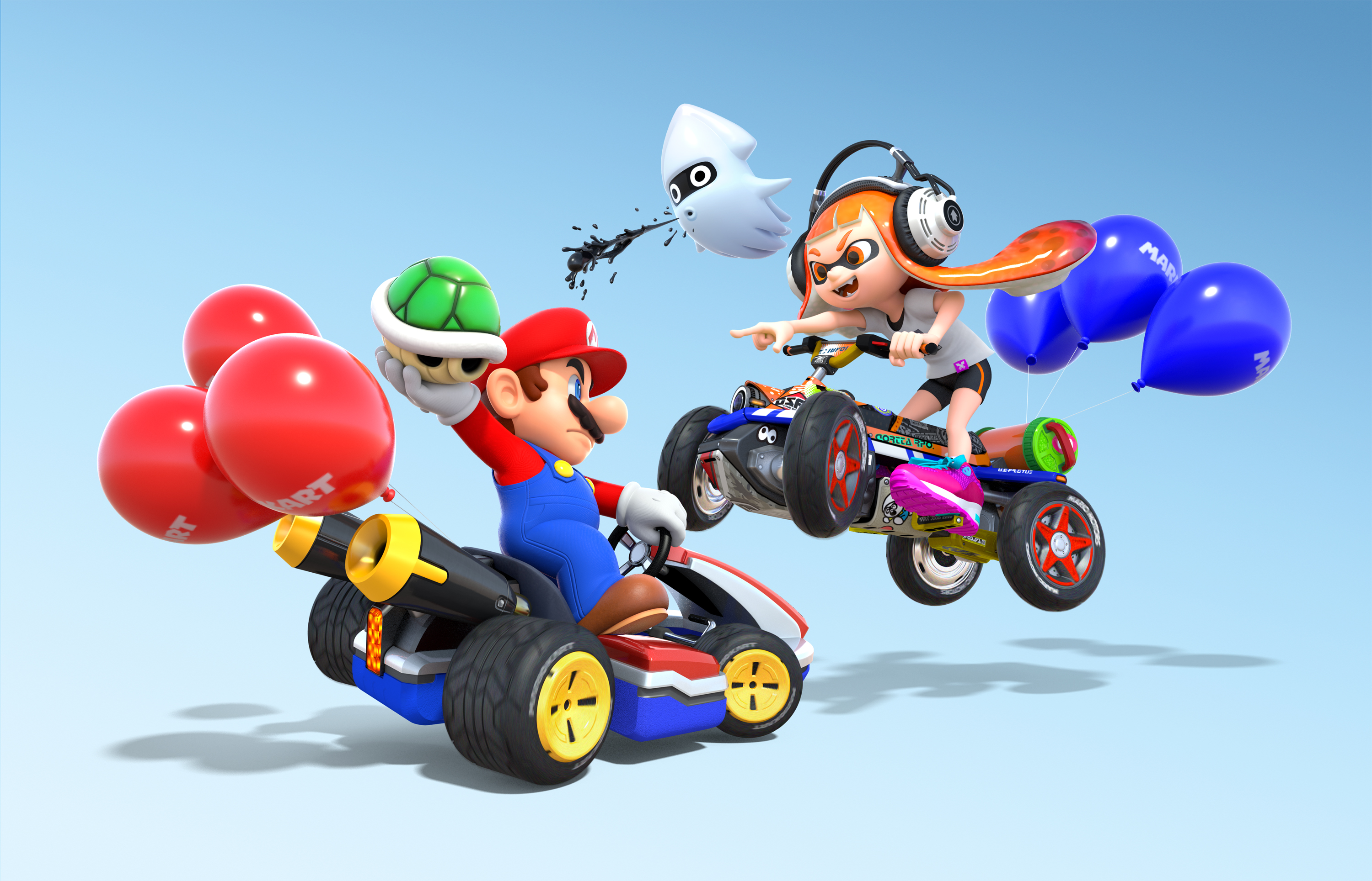 mario kart 8 deluxe wallpaper hd