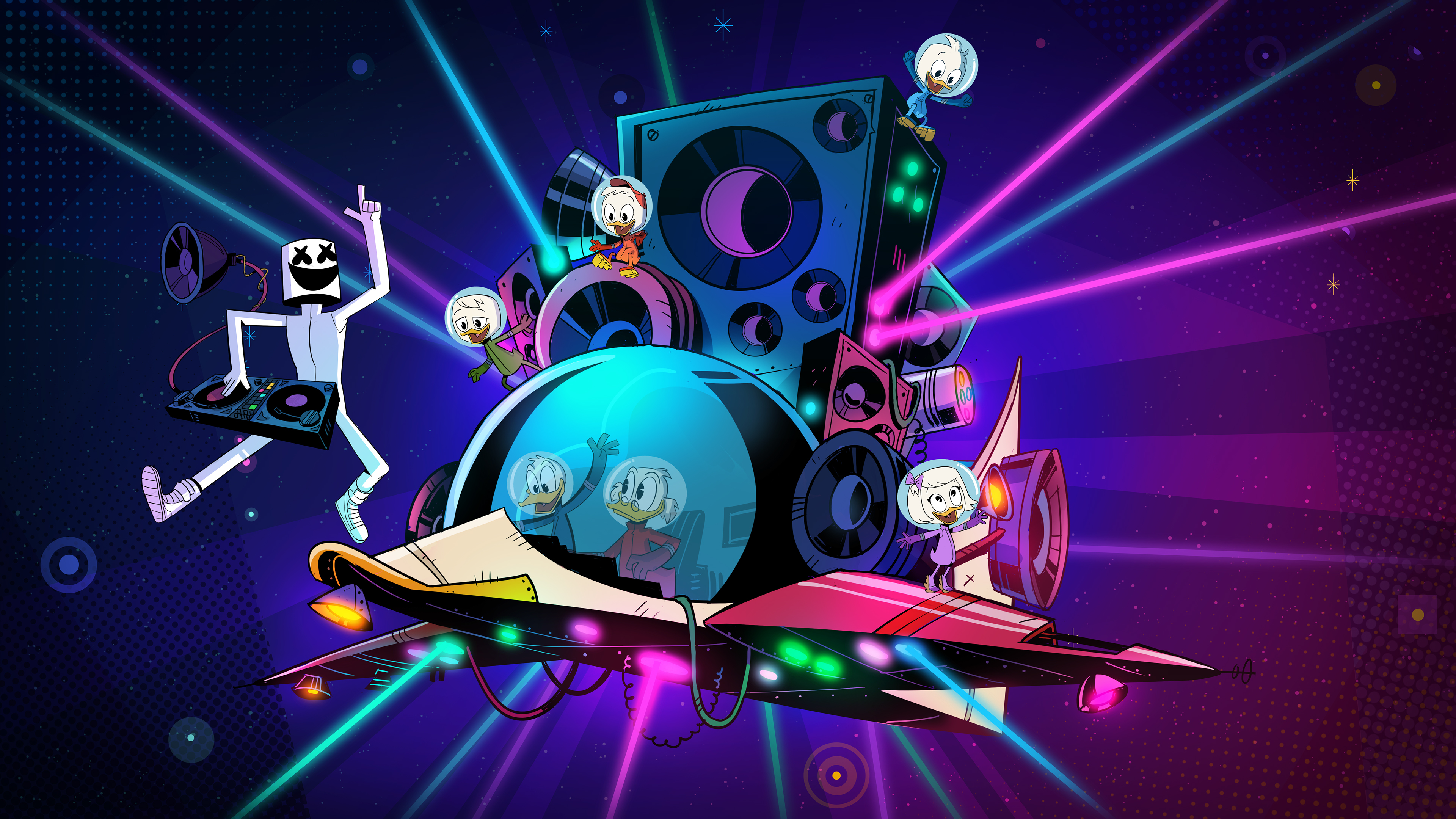 Marshmello Ducktales 4k Art, HD Music, 4k Wallpapers ...