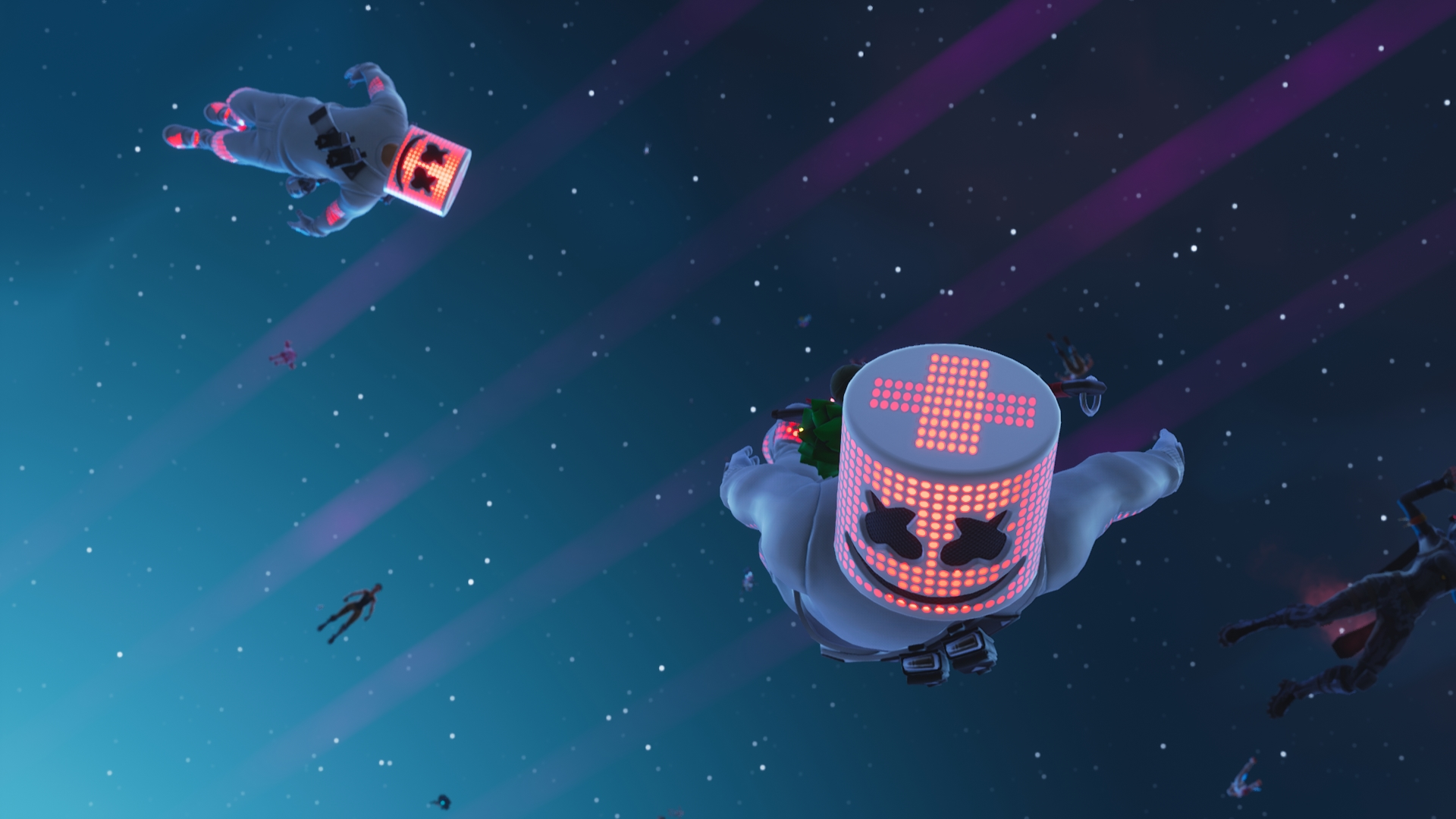 1920x1080 Marshmello Fortnite Laptop Full Hd 1080p Hd 4k Wallpapers Images Backgrounds Photos And Pictures