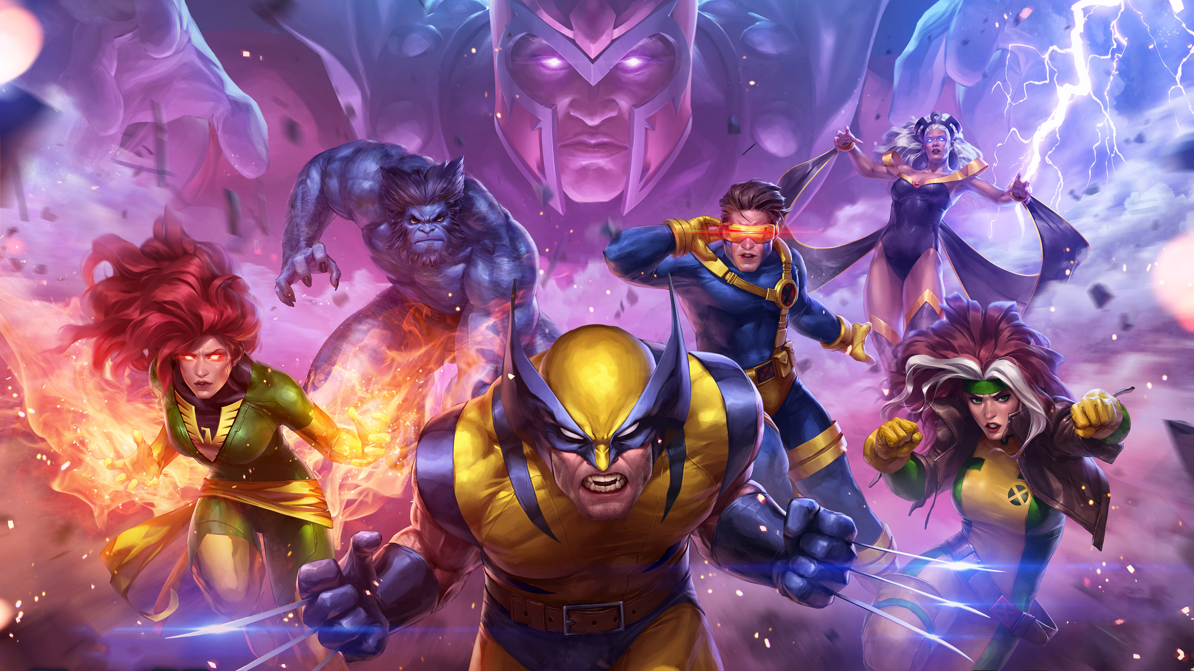 Marvel Contest Of Champions X Men Hd Games 4k Wallpapers Images Backgrounds Photos And Pictures