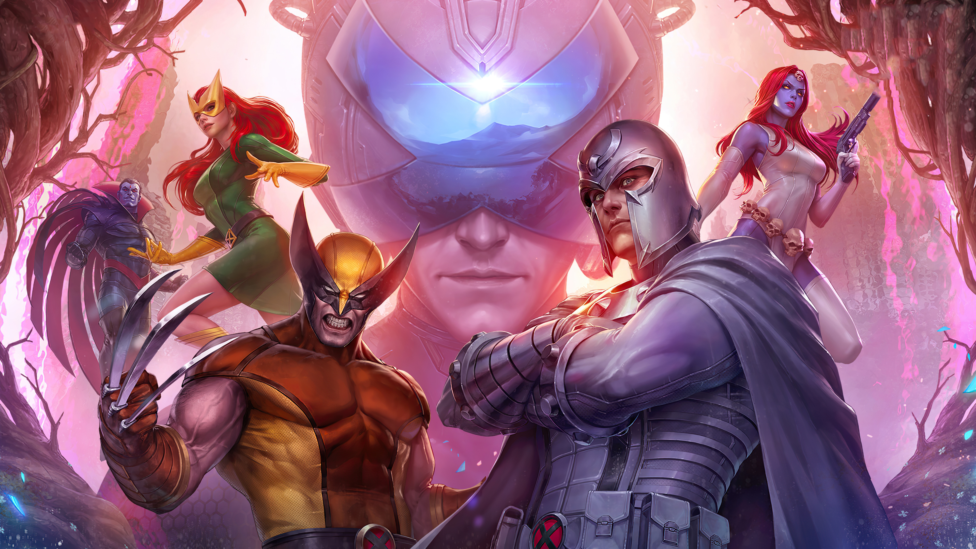 Marvel Future Fight X Men Force Hd Games 4k Wallpapers Images Backgrounds Photos And Pictures