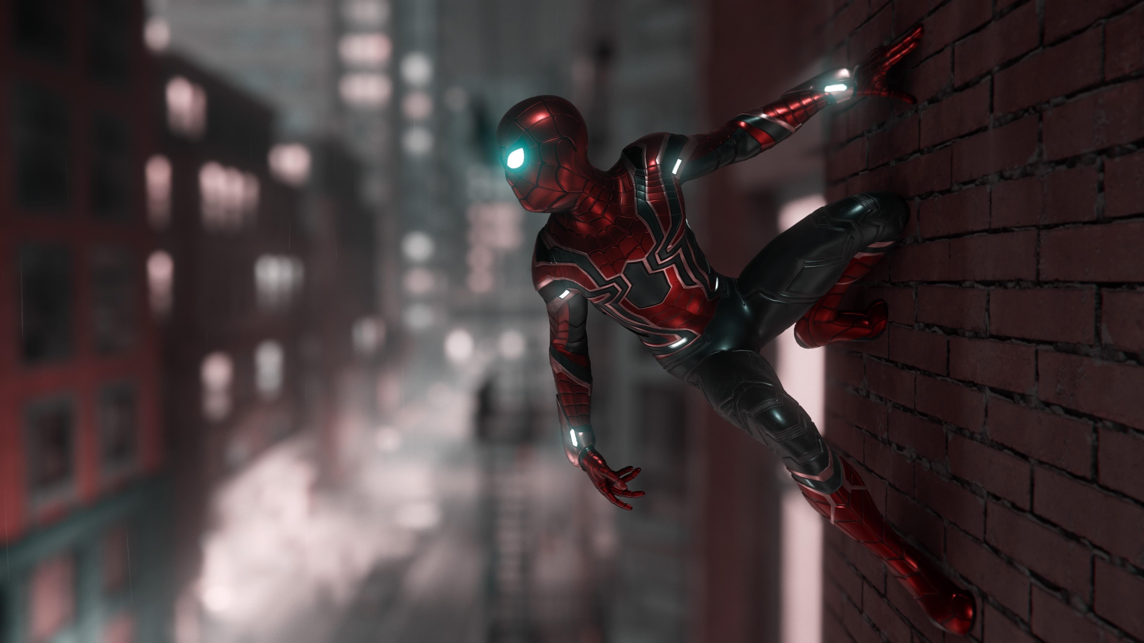 Marvel Spiderman Ps4 4k, HD Games, 4k Wallpapers, Images ...
