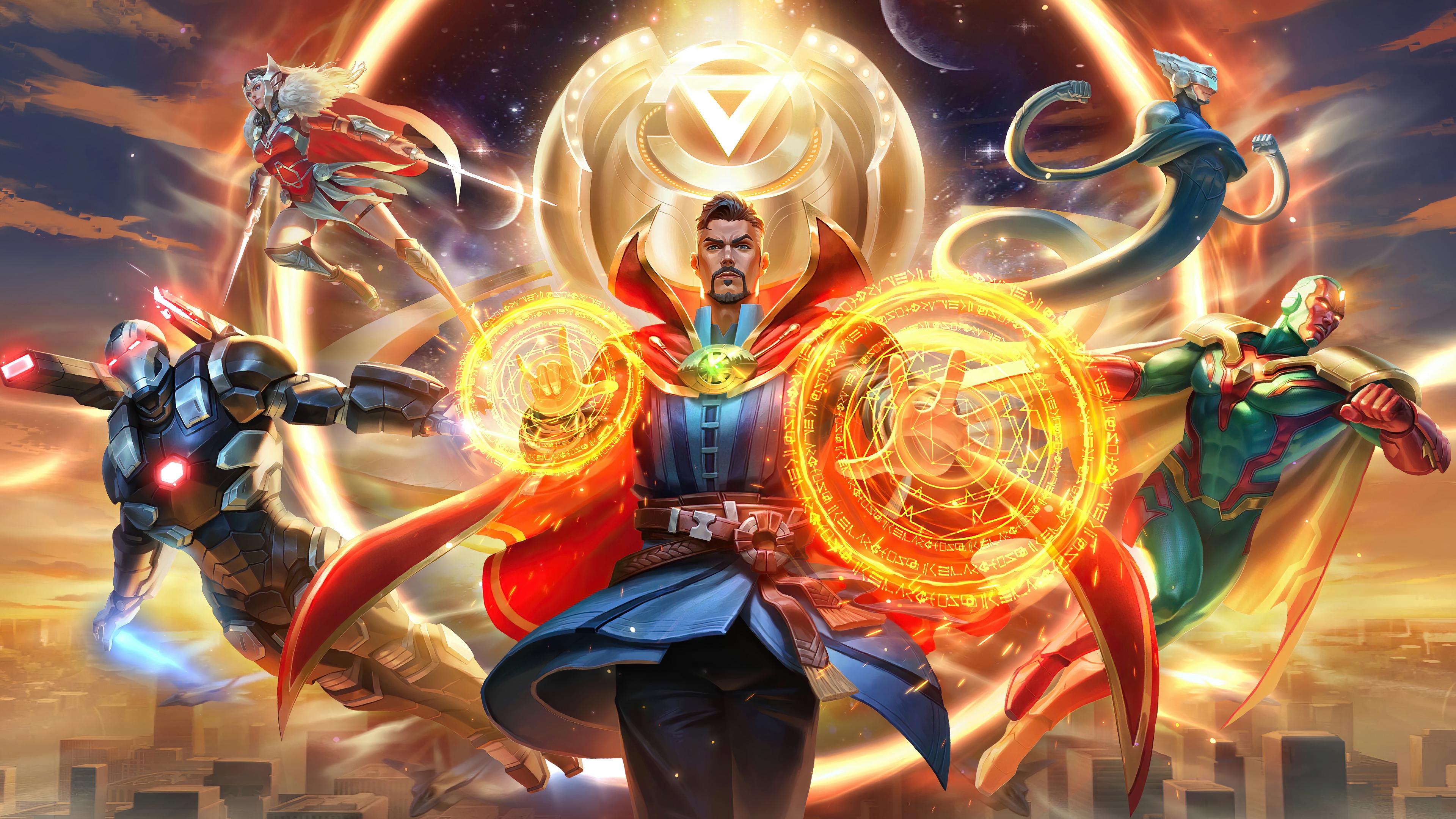 Marvel Super War 4k 2020, HD Artist, 4k Wallpapers, Images ...