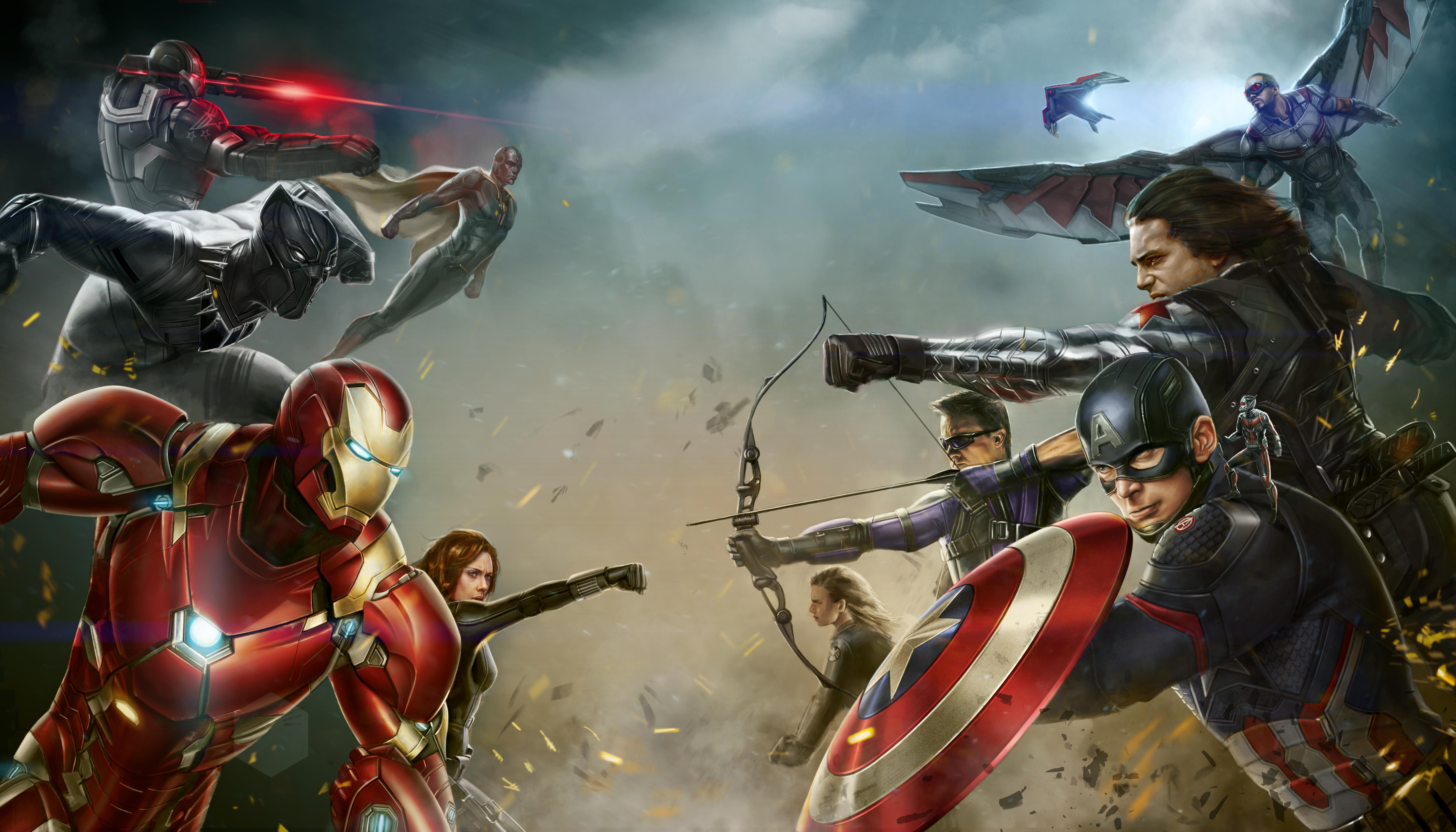 7680x4320 Marvel Superhero 8k Digital Art 8k Hd 4k Wallpapers