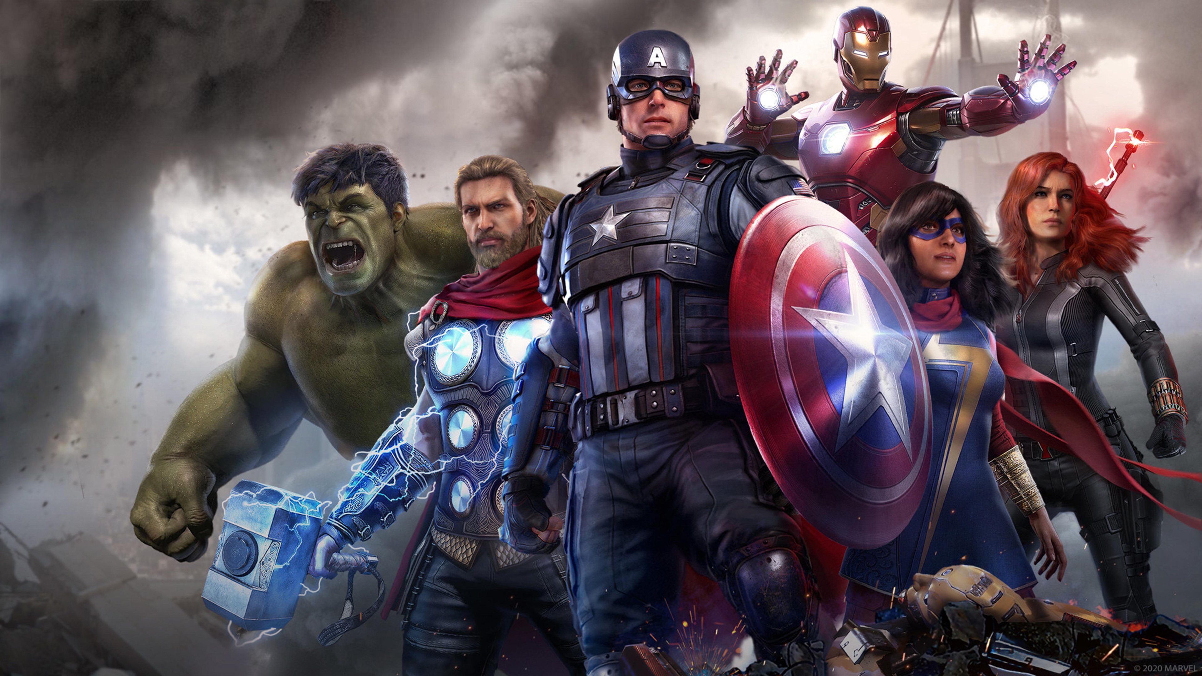 10 4k Hd Marvel S Avengers Desktop Wallpapers For Your Next Background