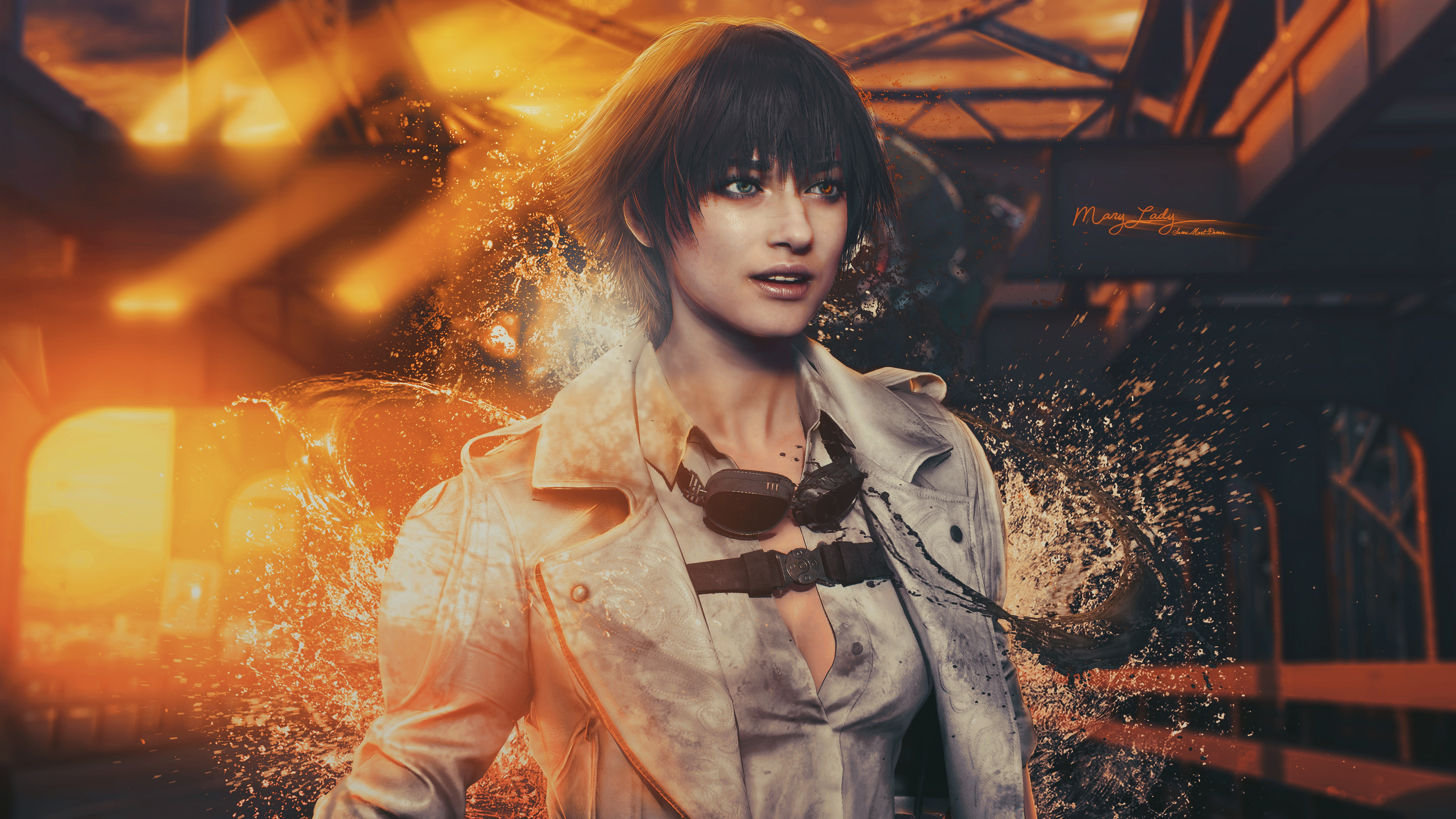 Mary Lady Devil May Cry 4k Hd Games 4k Wallpapers Images