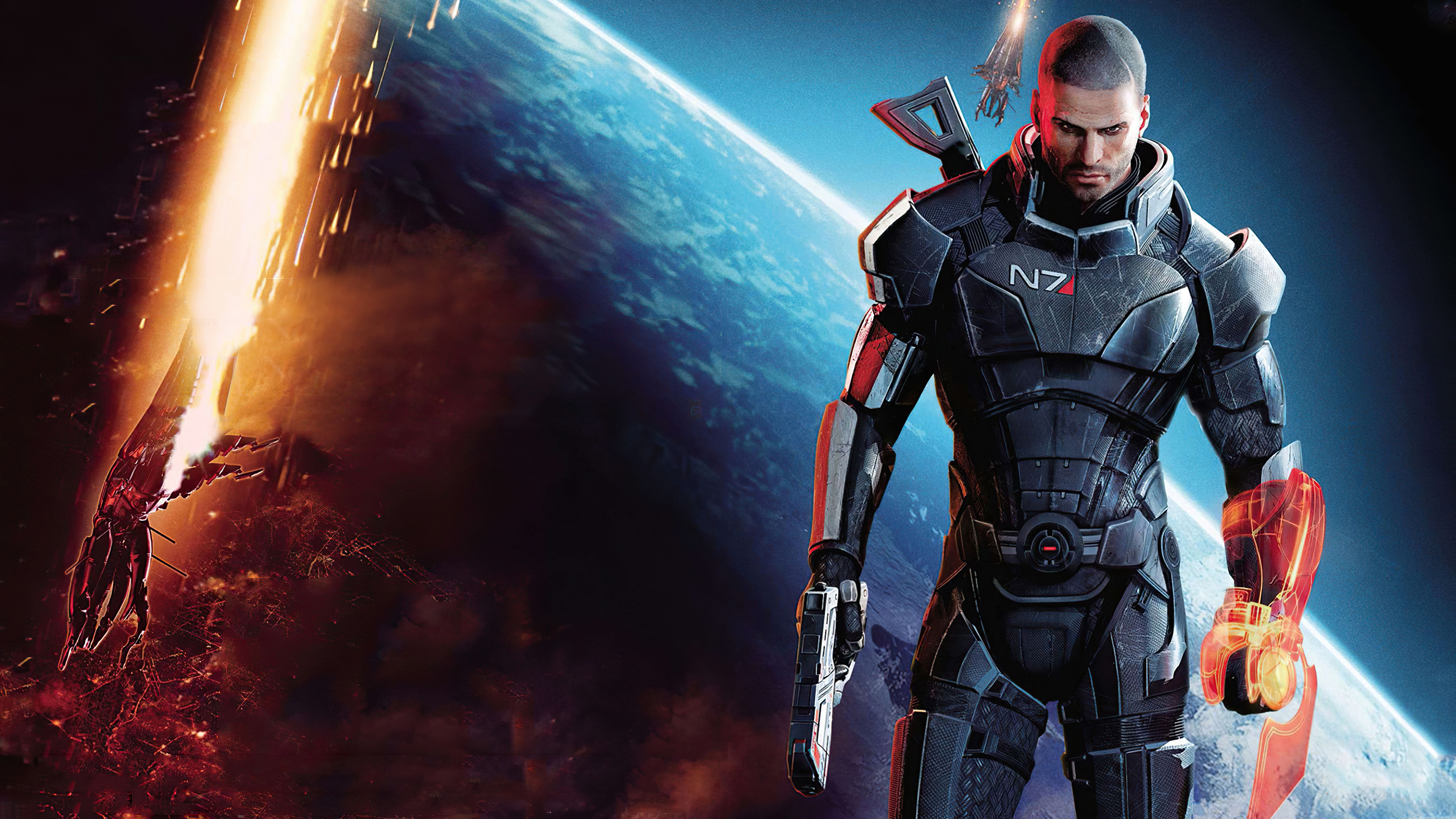 Mass Effect 3 Pc Version Hd Games 4k Wallpapers Images Backgrounds Photos And Pictures