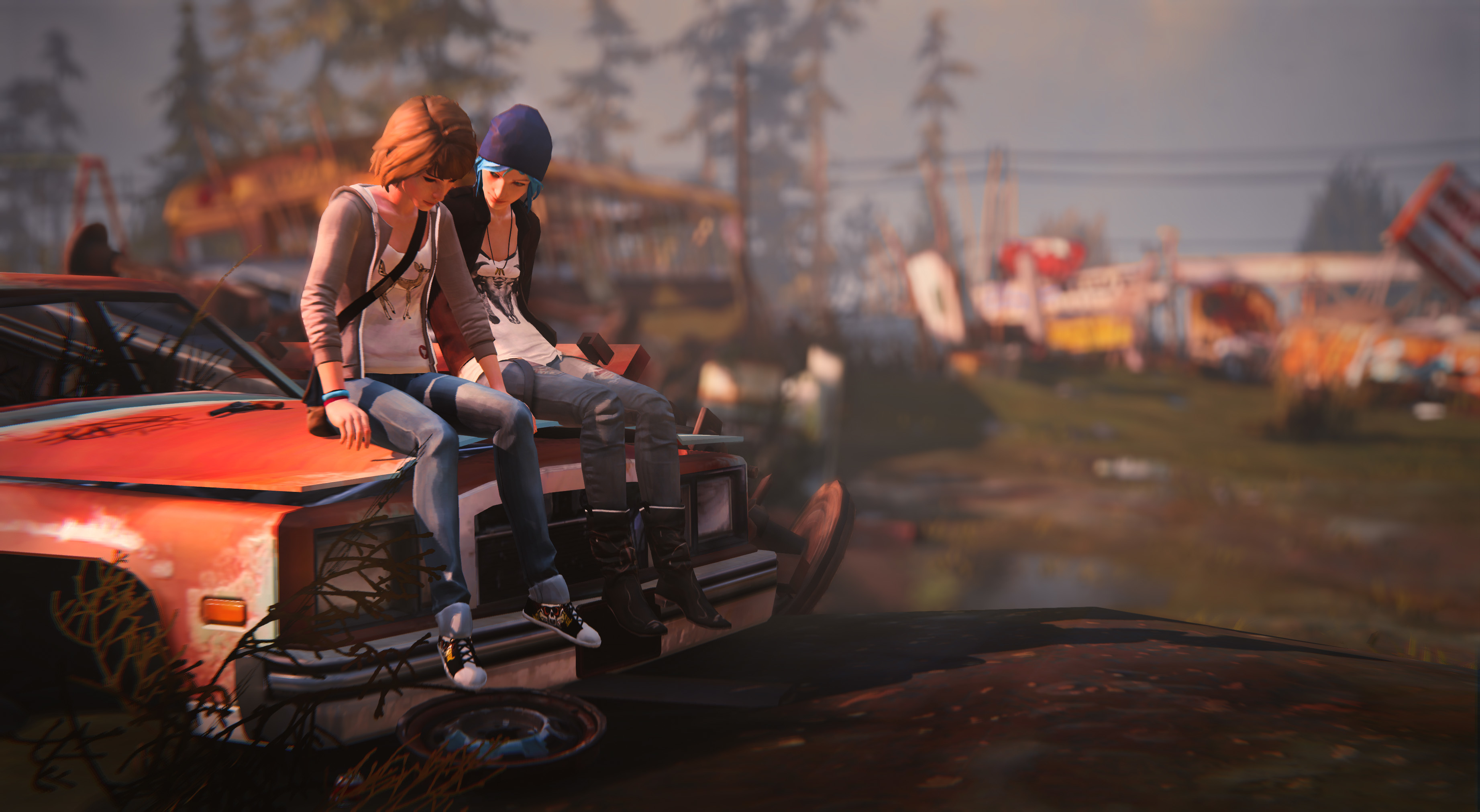 Max And Chloe Life Is Strange Hd Games 4k Wallpapers Images