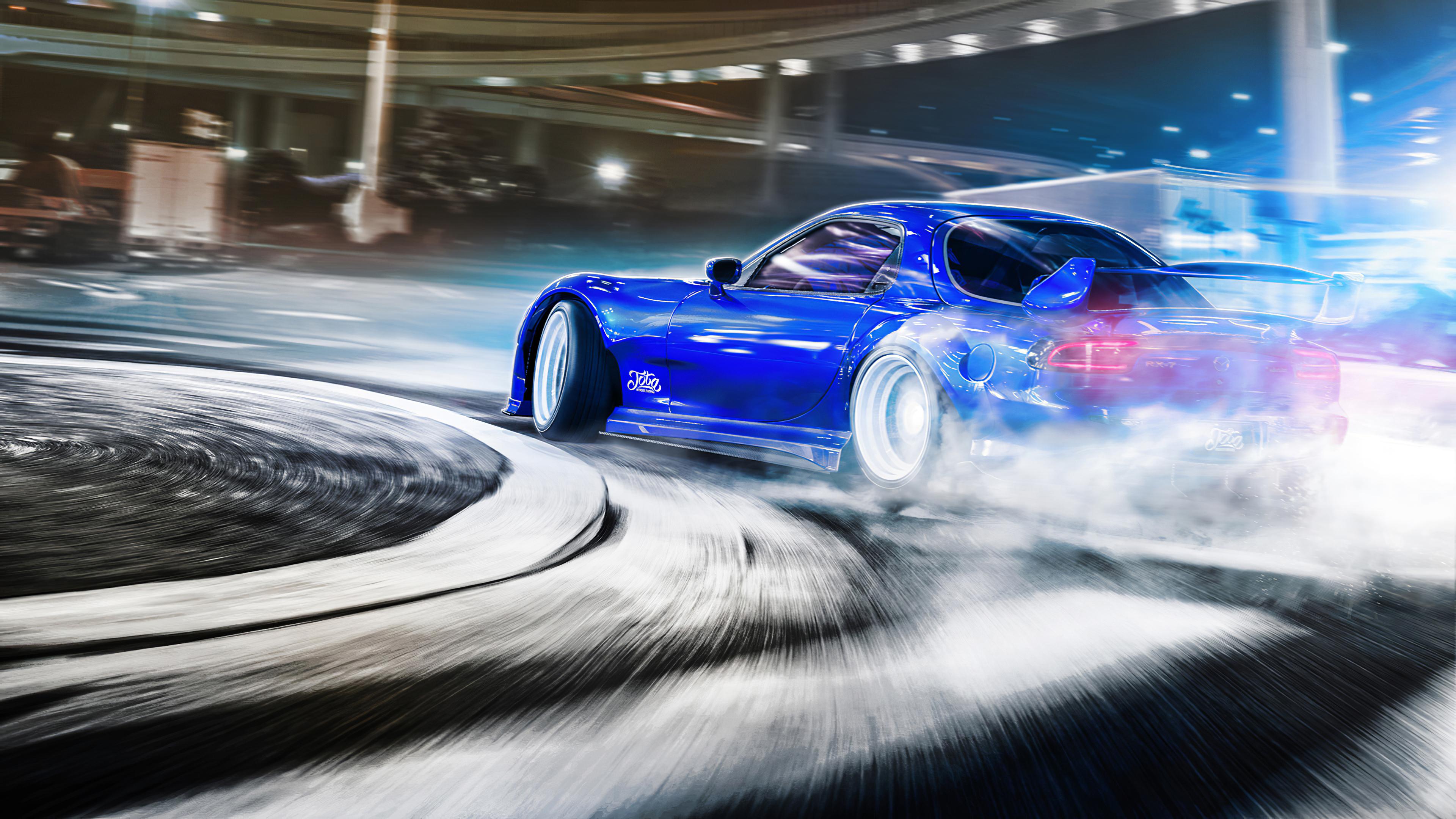 Mazda Rx7 Drifting 4k, HD Cars, 4k Wallpapers, Images ...