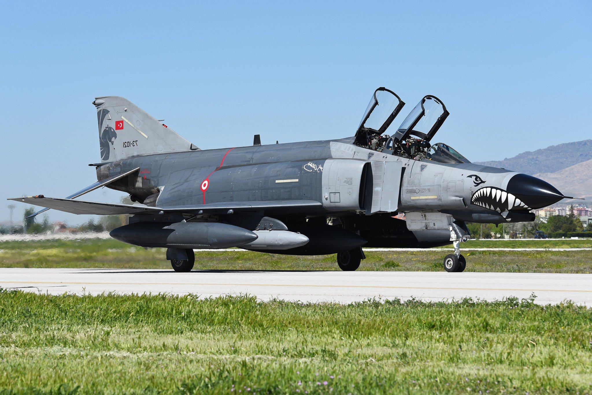 Mcdonnell Douglas F 4 Phantom Ii Jet Fighter Aircraft Warplane Hd