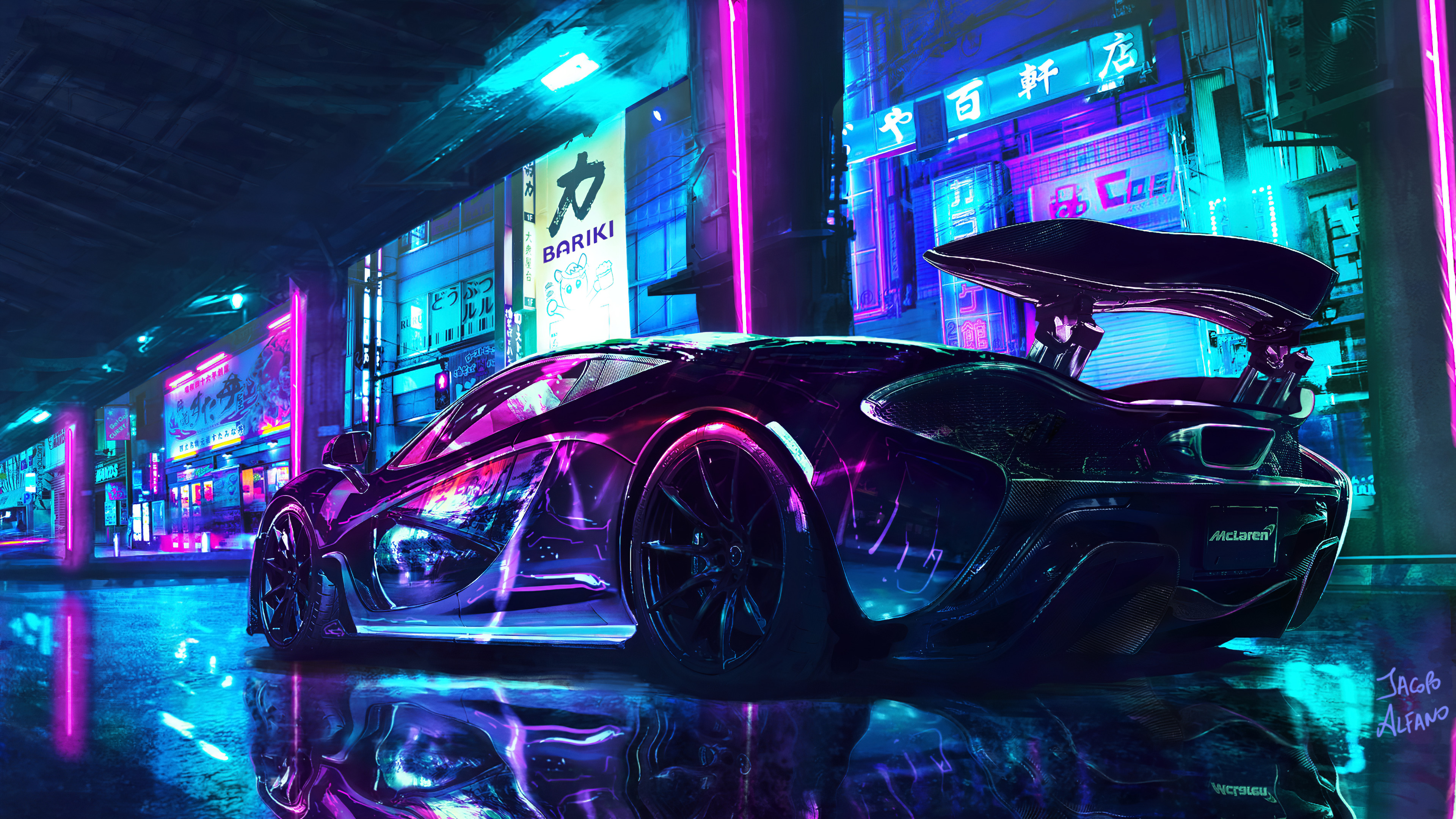Mclaren Cyberpunk Chrome Color 4k Hd Cars 4k Wallpapers Images Backgrounds Photos And Pictures
