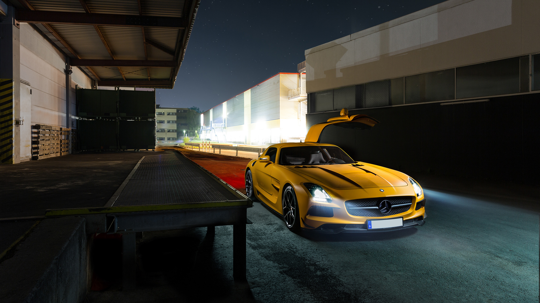 Mercedes Benz Amg GT Yellow, HD Cars