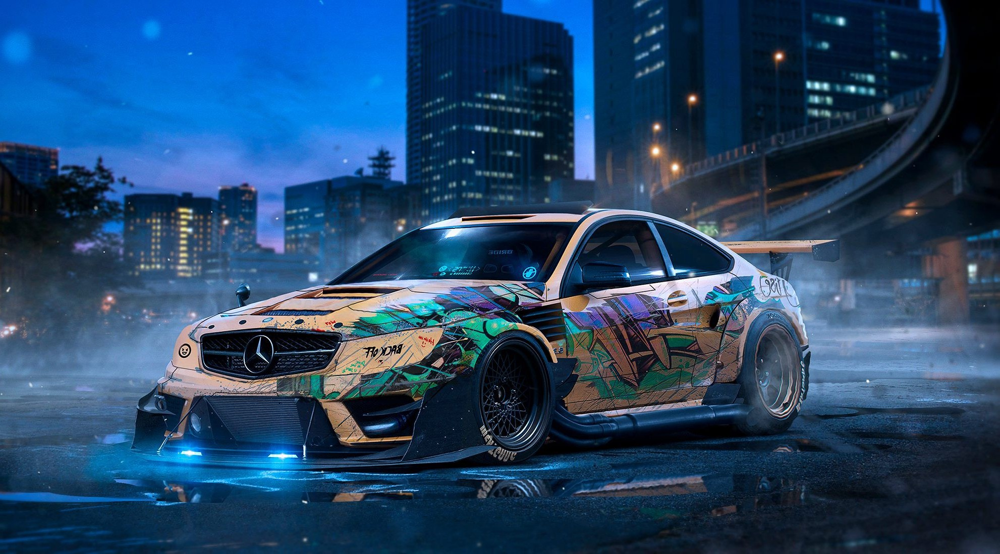 Mercedes Drift Hd Cars 4k Wallpapers Images Backgrounds Photos And Pictures