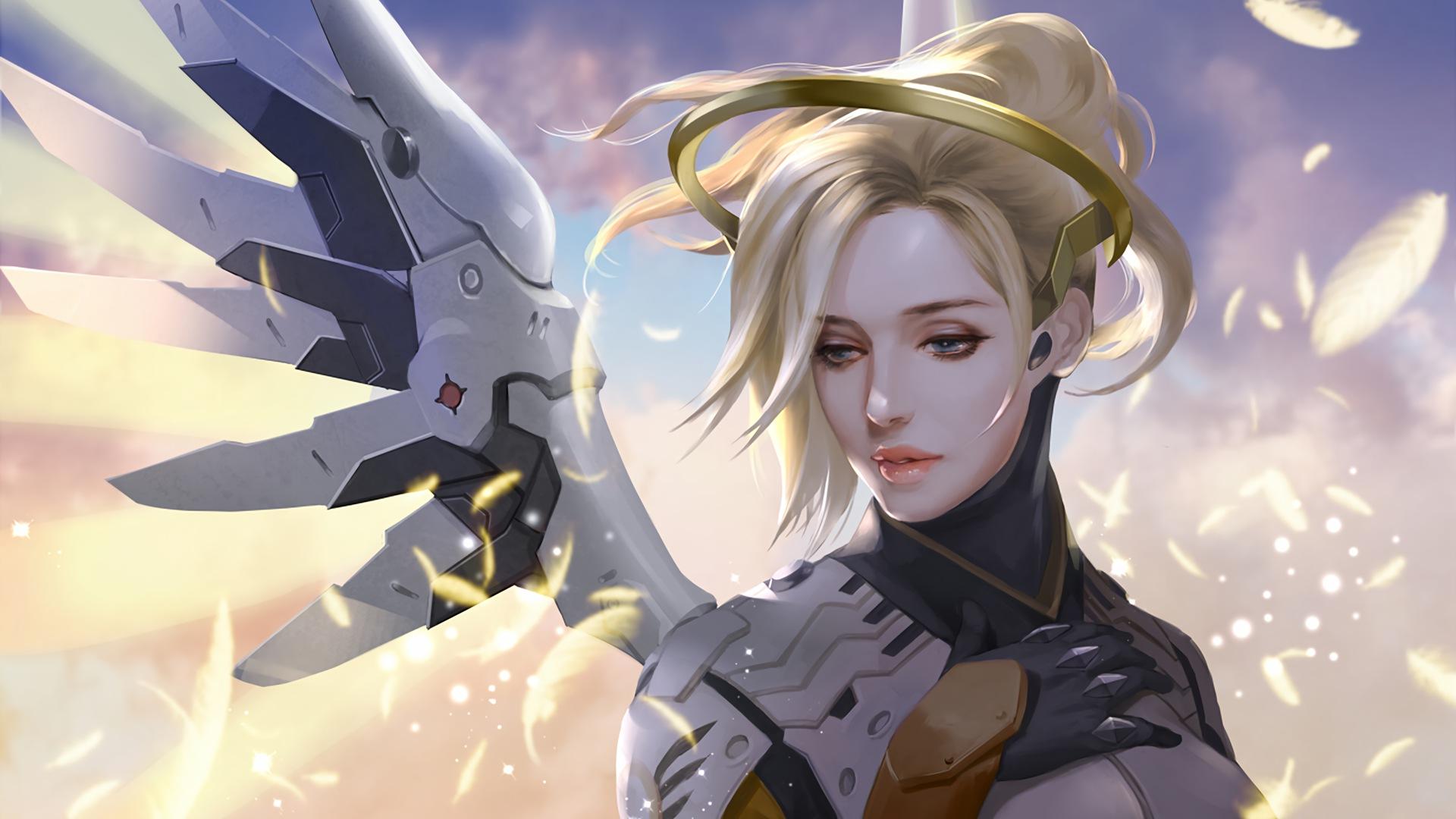 mercy overwatch game artwork v3