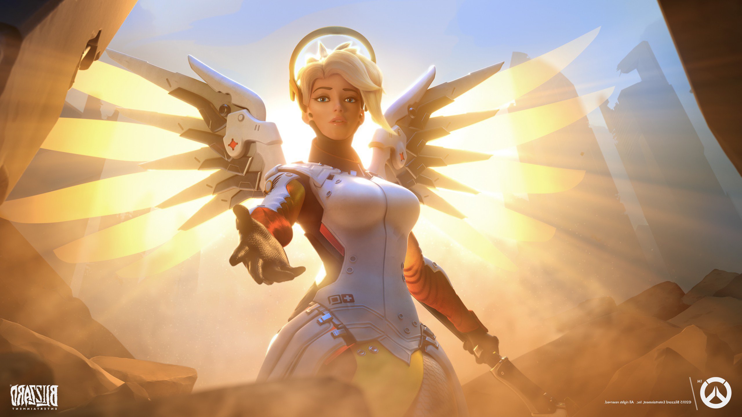Mercy Overwatch Hd Games 4k Wallpapers Images Backgrounds Photos And Pictures
