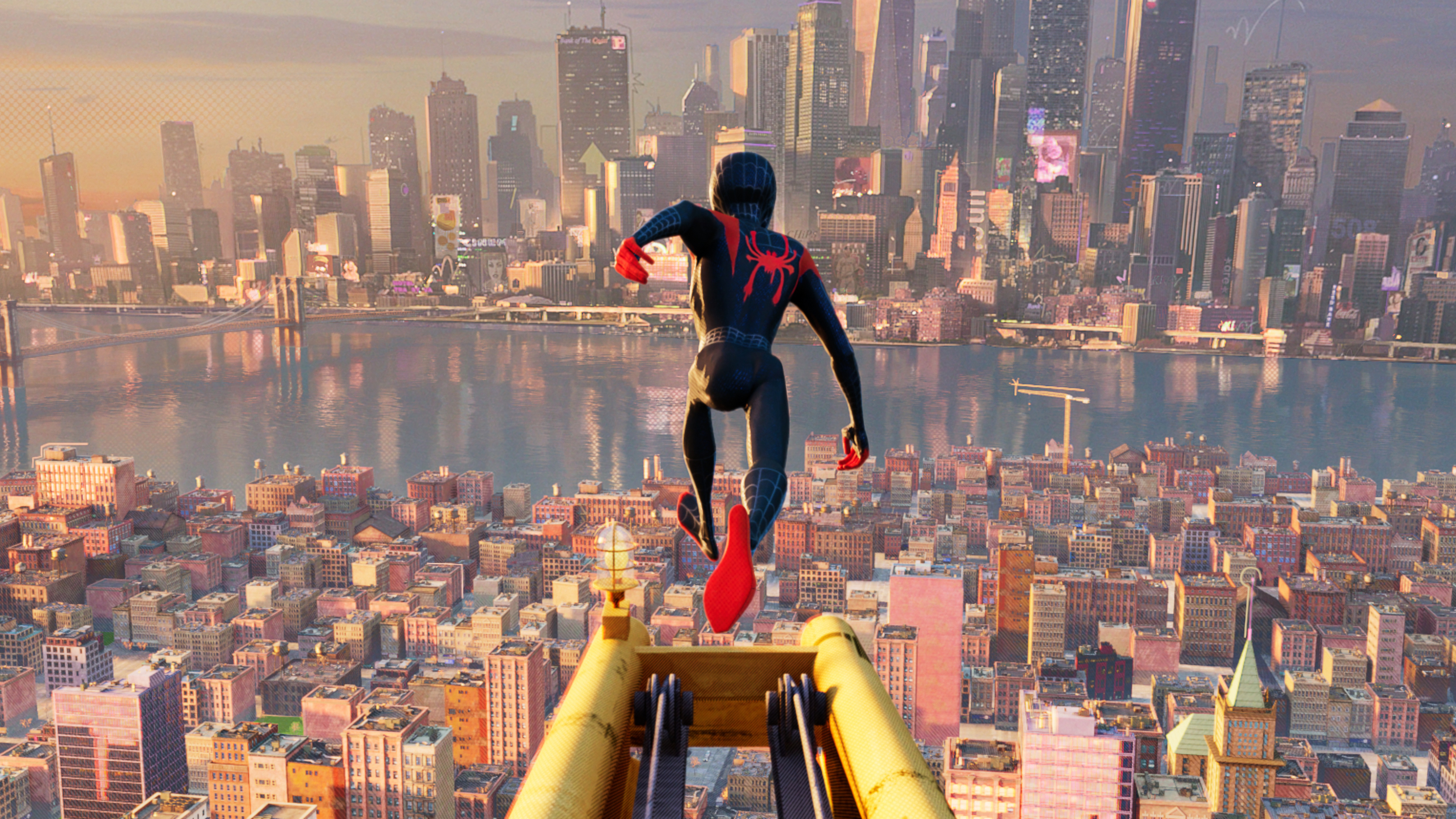 1366x768 Miles Morales In Spider Man Into The Spider Verse 2018