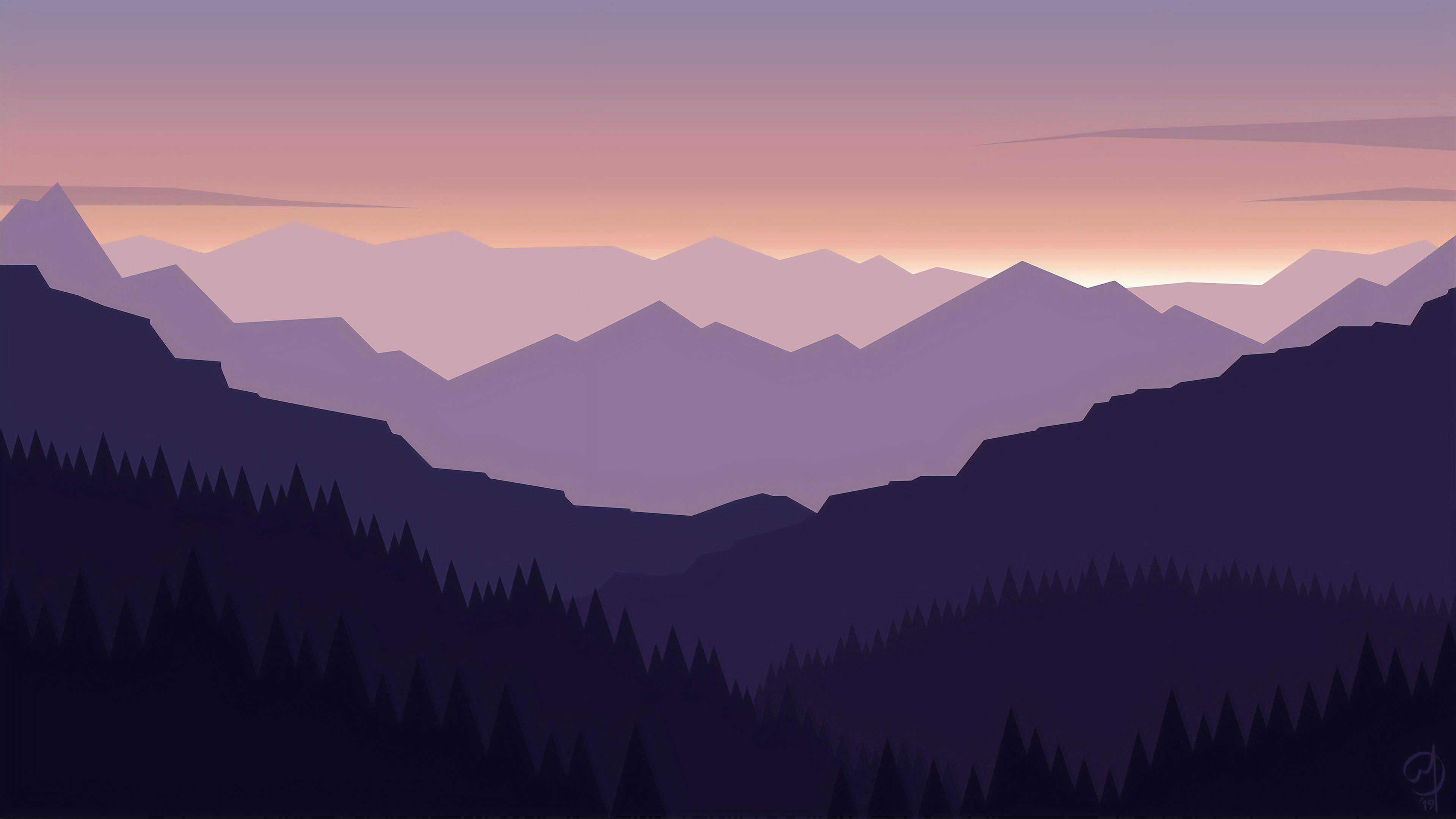 Minimal Landscape 4k, HD Artist, 4k Wallpapers, Images ...