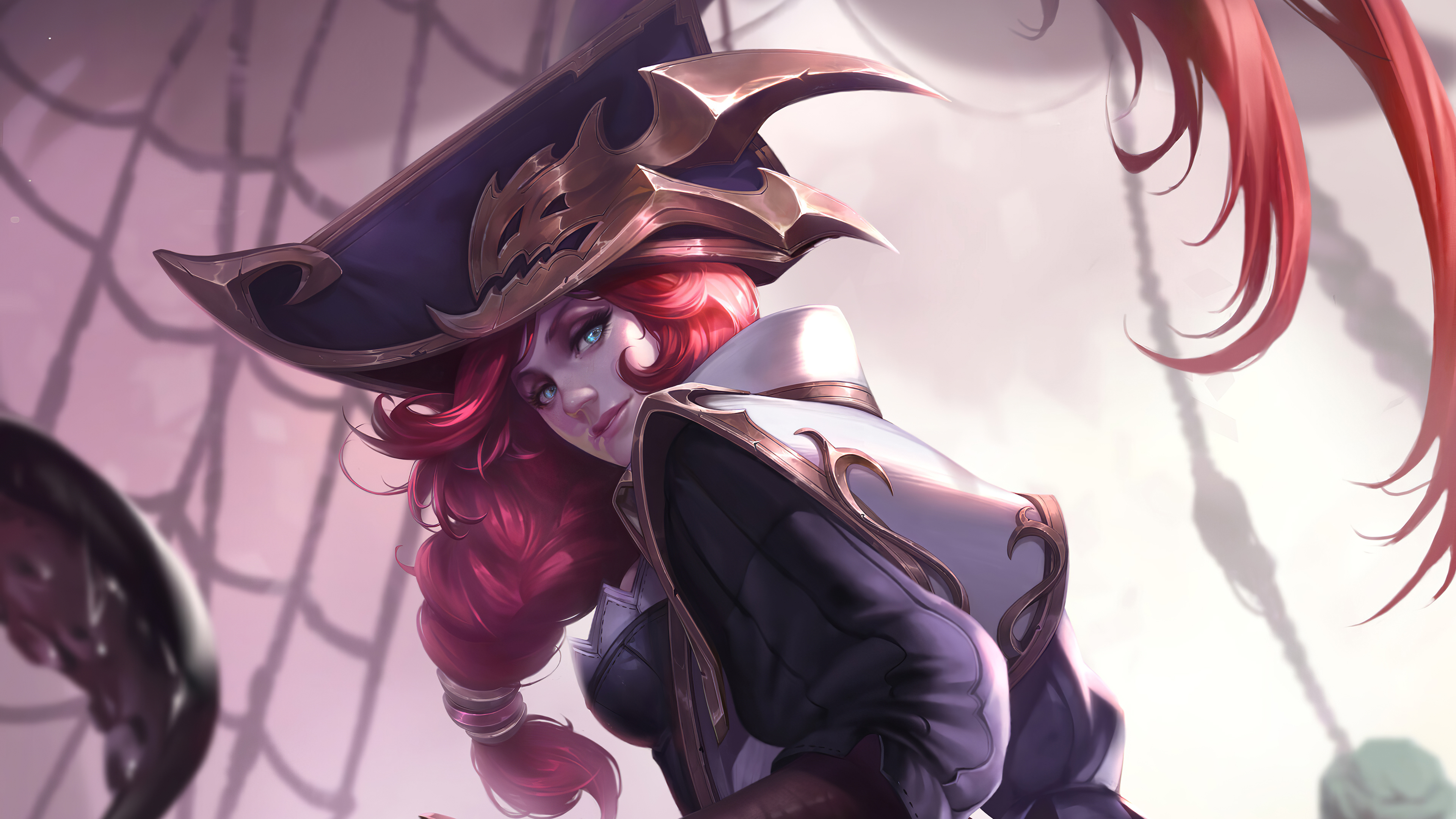 Miss Fortune Lol Art 4k Hd Games 4k Wallpapers Images