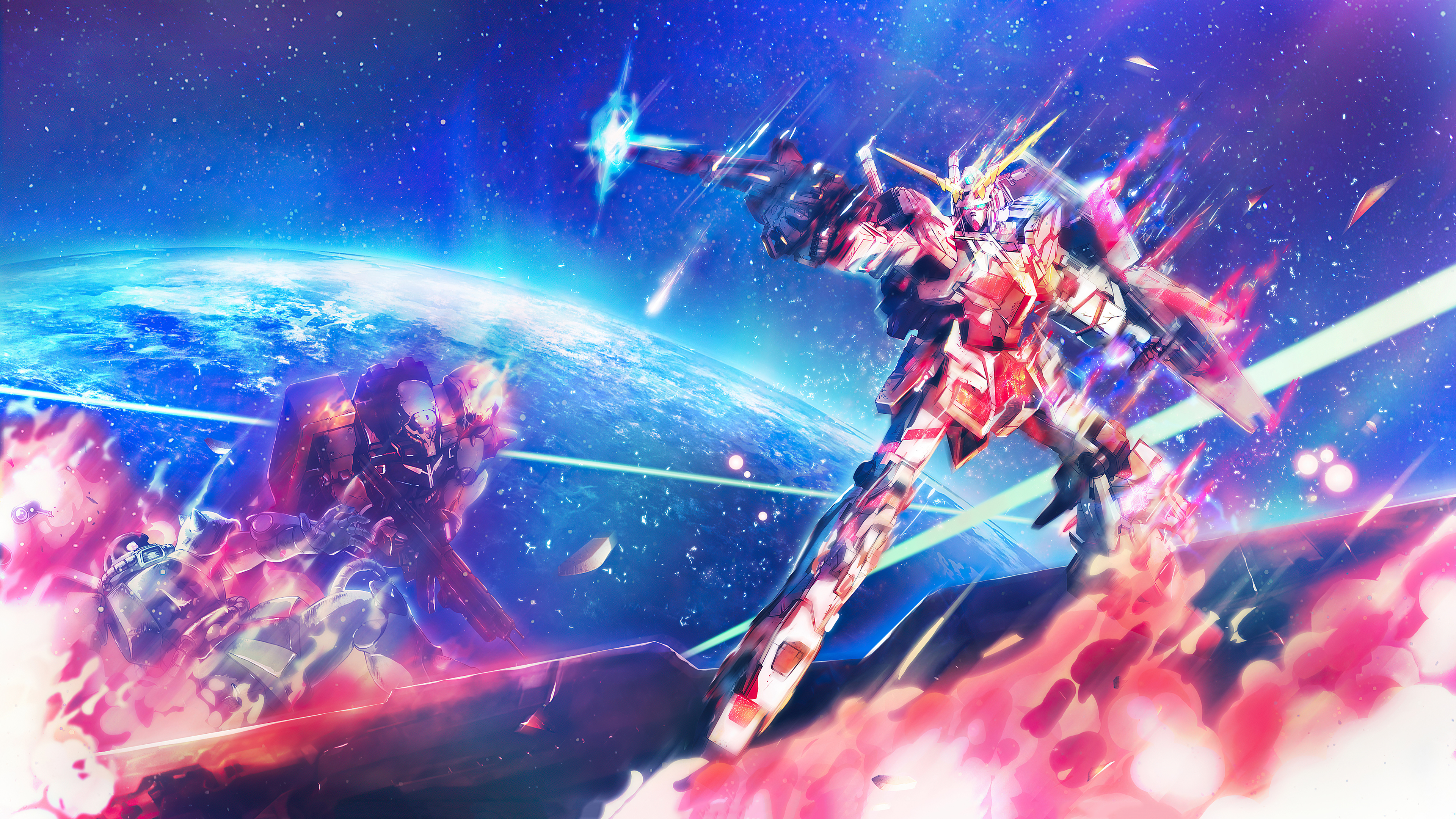 Mobile Suit Gundam Unicorn Anime 4k, HD Anime, 4k ...