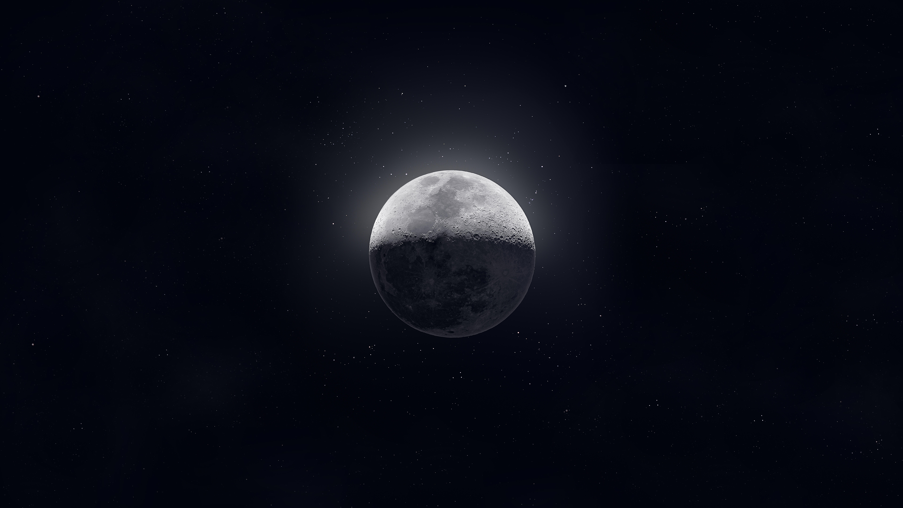 Moon Dark Sight 4k Hd Digital Universe 4k Wallpapers Images Backgrounds Photos And Pictures