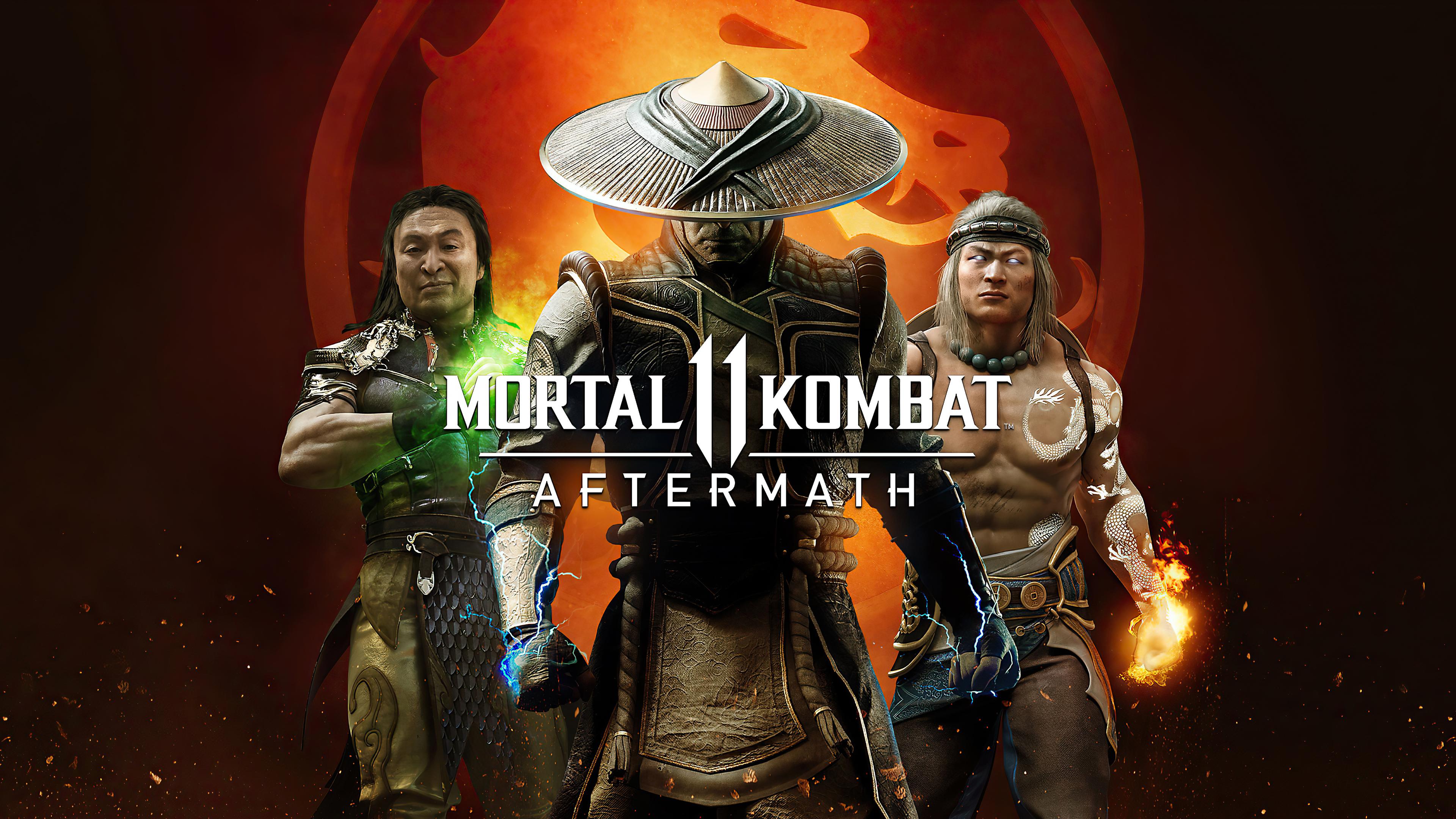 Mortal Kombat 11 Aftermath Game, HD Games, 4k Wallpapers ...