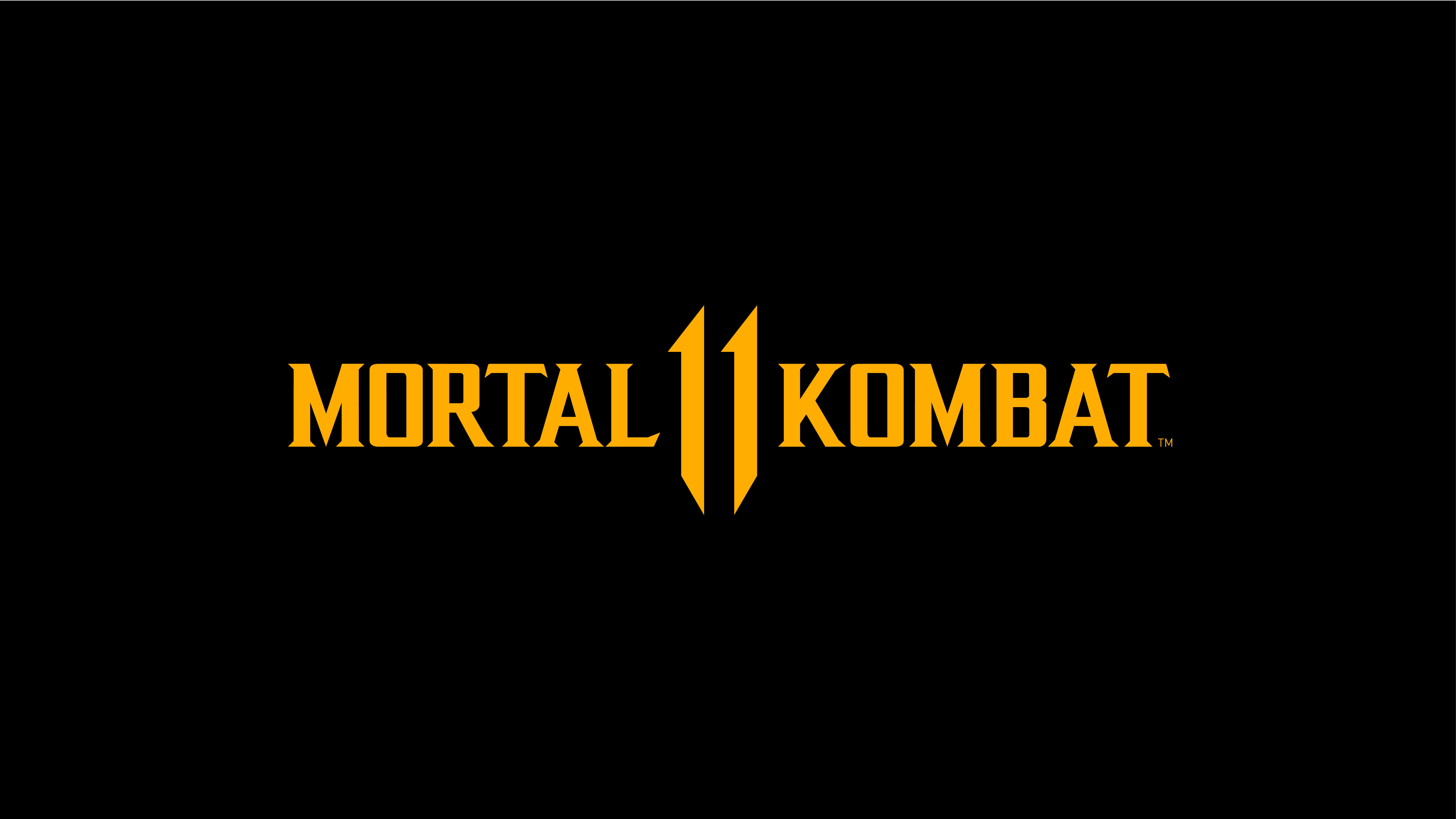 7680x4320 Mortal Kombat 11 Logo Dark Black 8k 8k Hd 4k Wallpapers