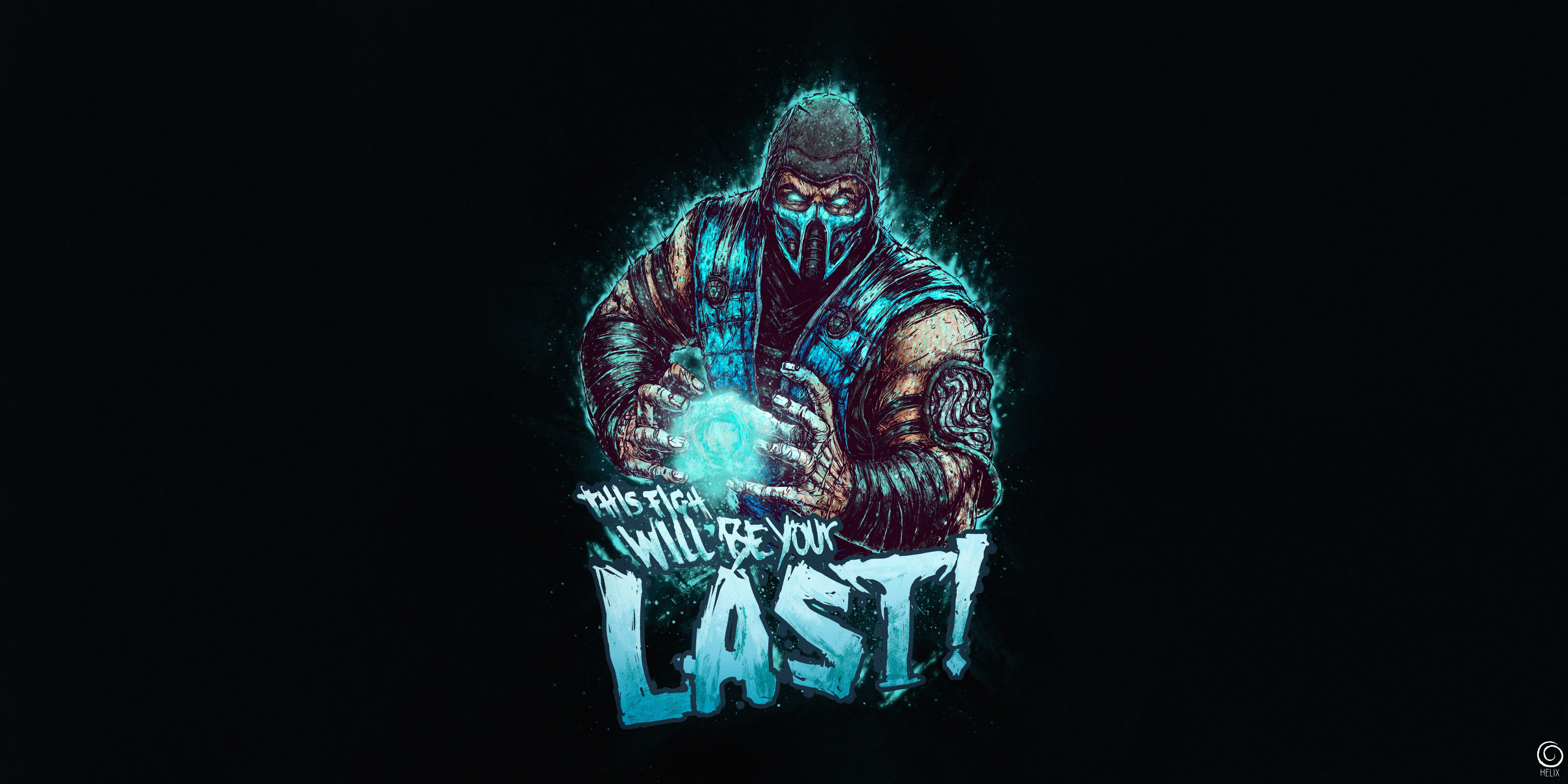 Mortal Kombat Sub Zero 5k Hd Games 4k Wallpapers Images