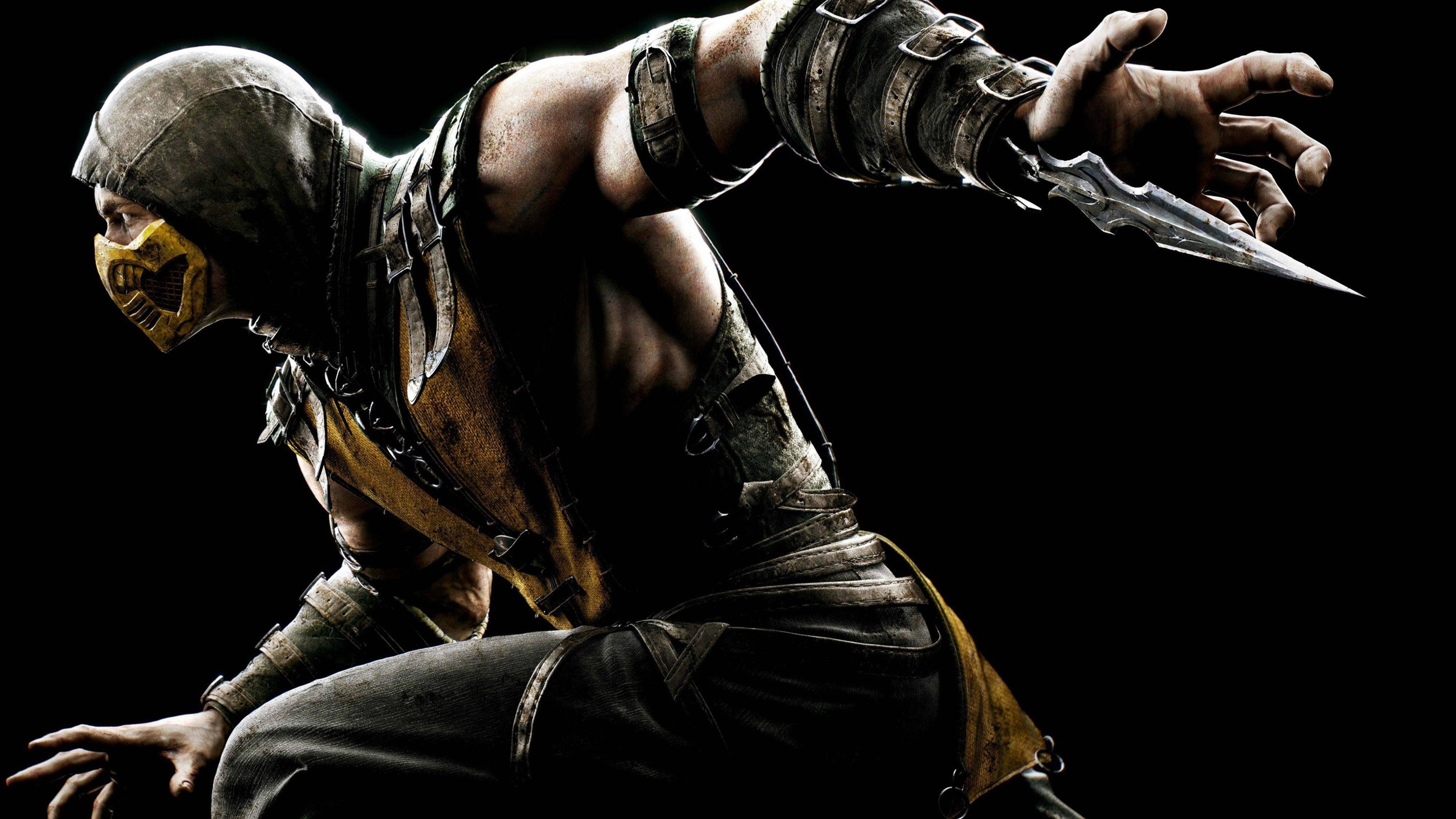 1600x900 Mortal Kombat X Scorpion 1600x900 Resolution Hd 4k