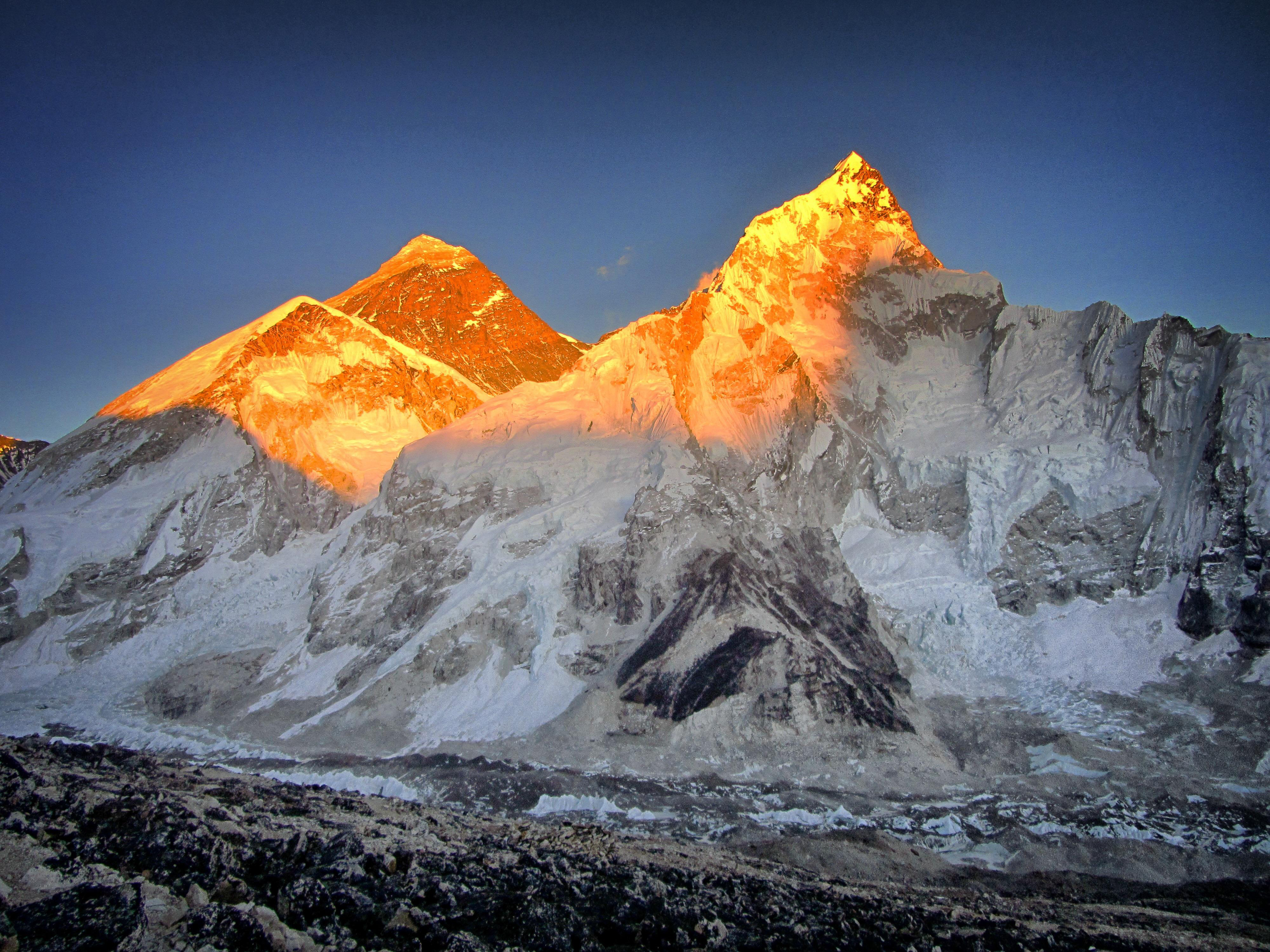 Mount Everest Sunset 4k Hd Artist 4k Wallpapers Images Backgrounds Photos And Pictures