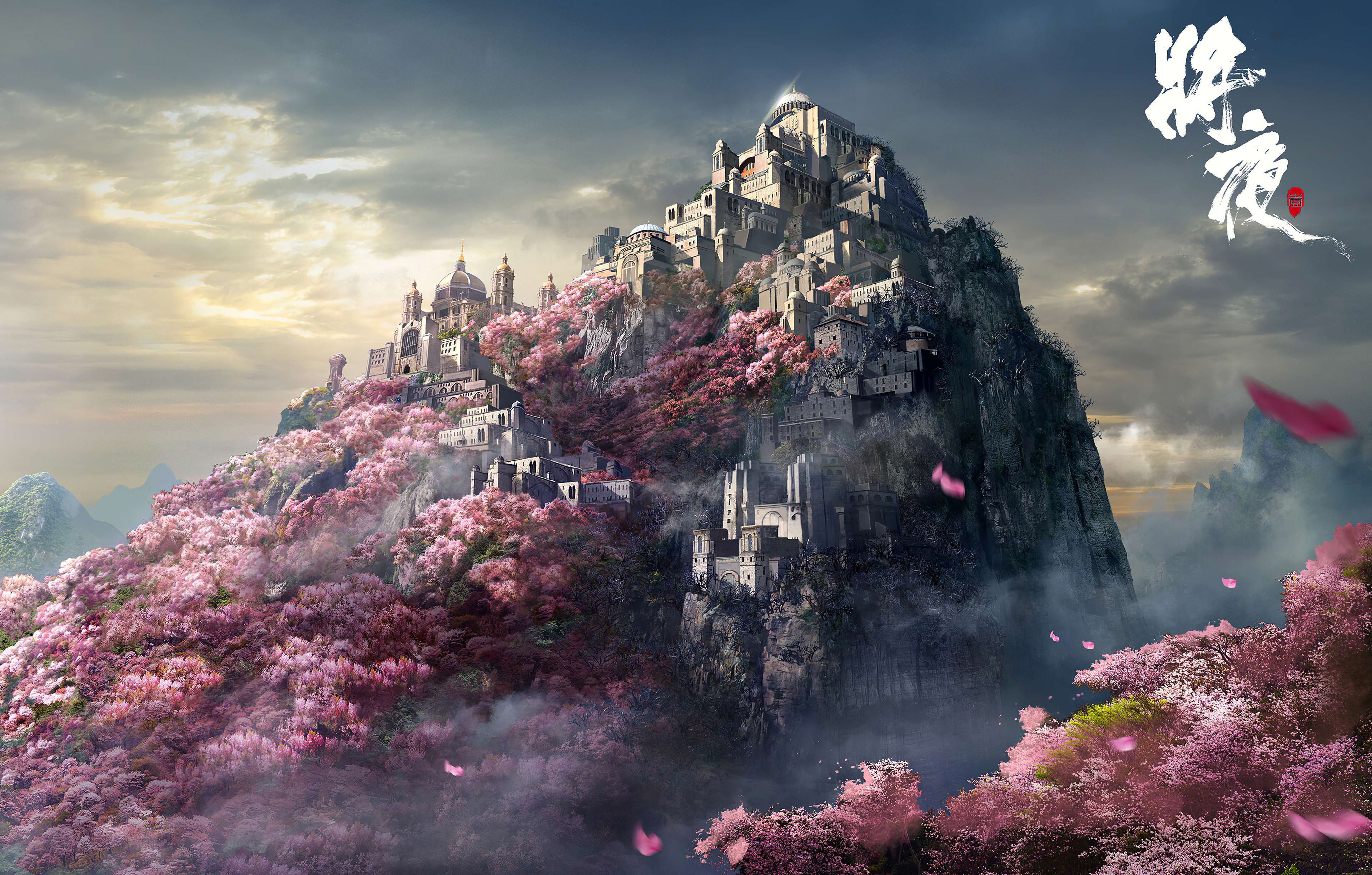 Mountain Castle Japan 4k, HD Artist, 4k Wallpapers, Images ...