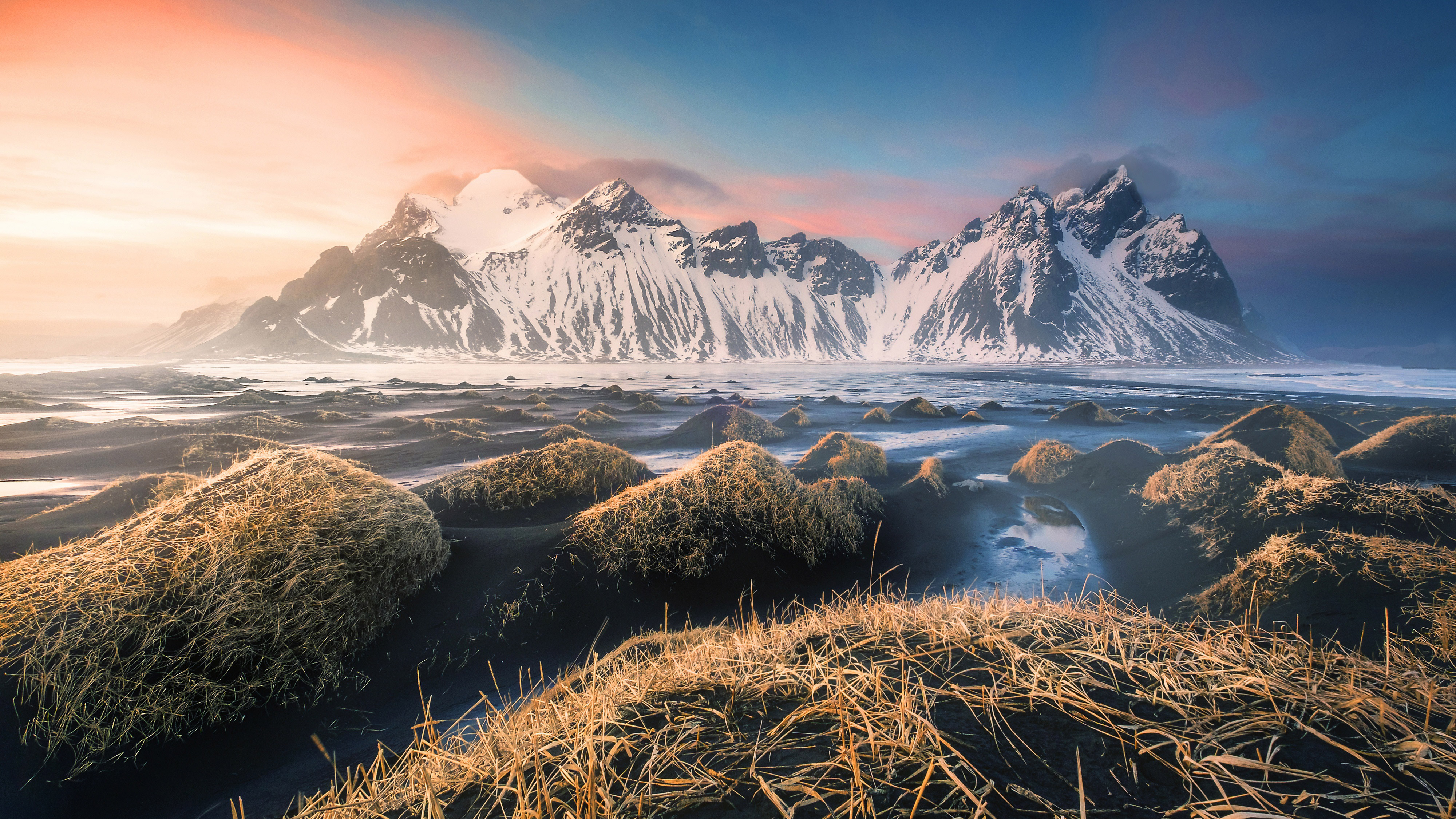 Mountains Iceland 4k, HD Nature, 4k Wallpapers, Images ...