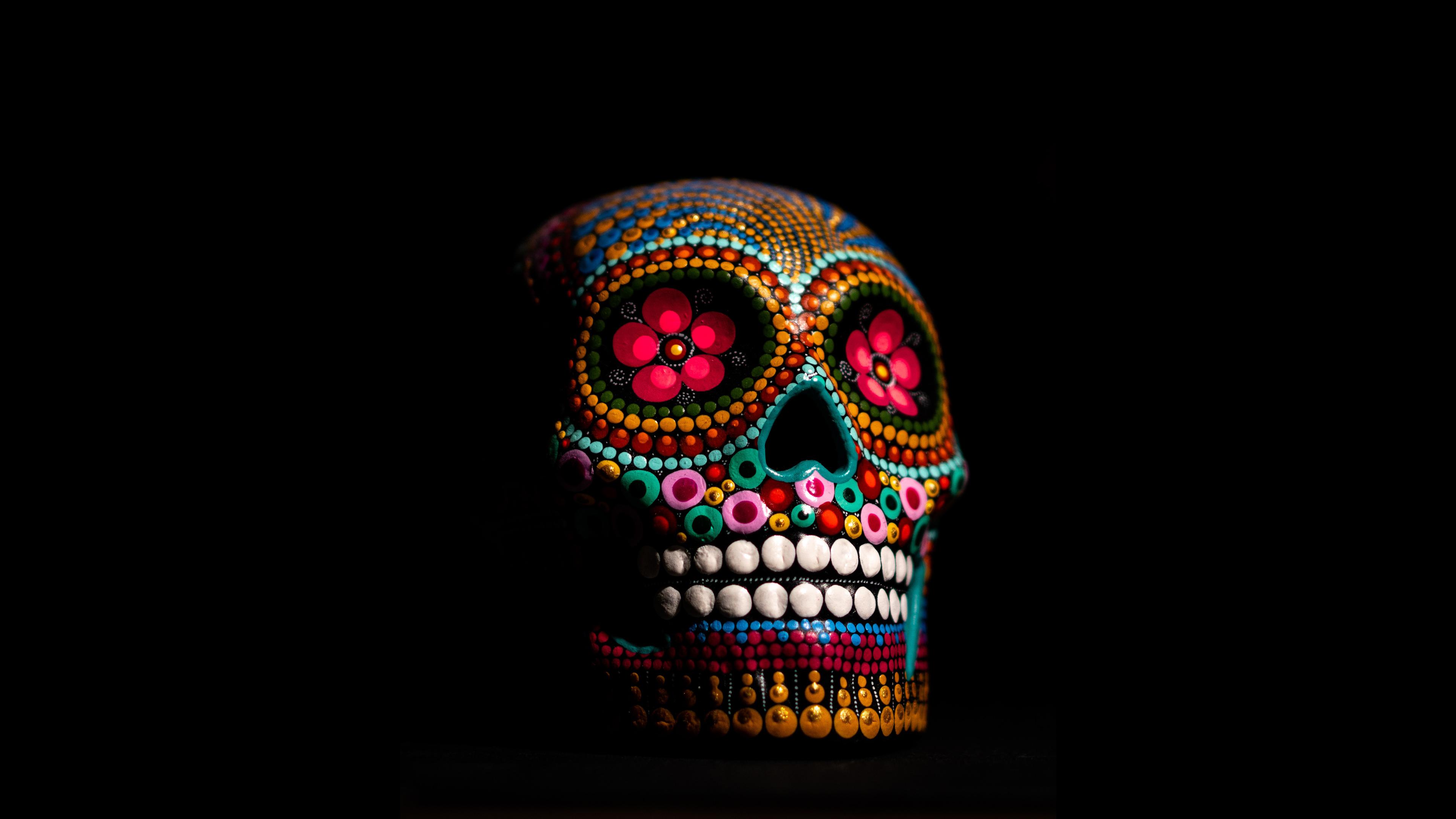 Multi Color Skull 4k, HD Artist, 4k Wallpapers, Images ...