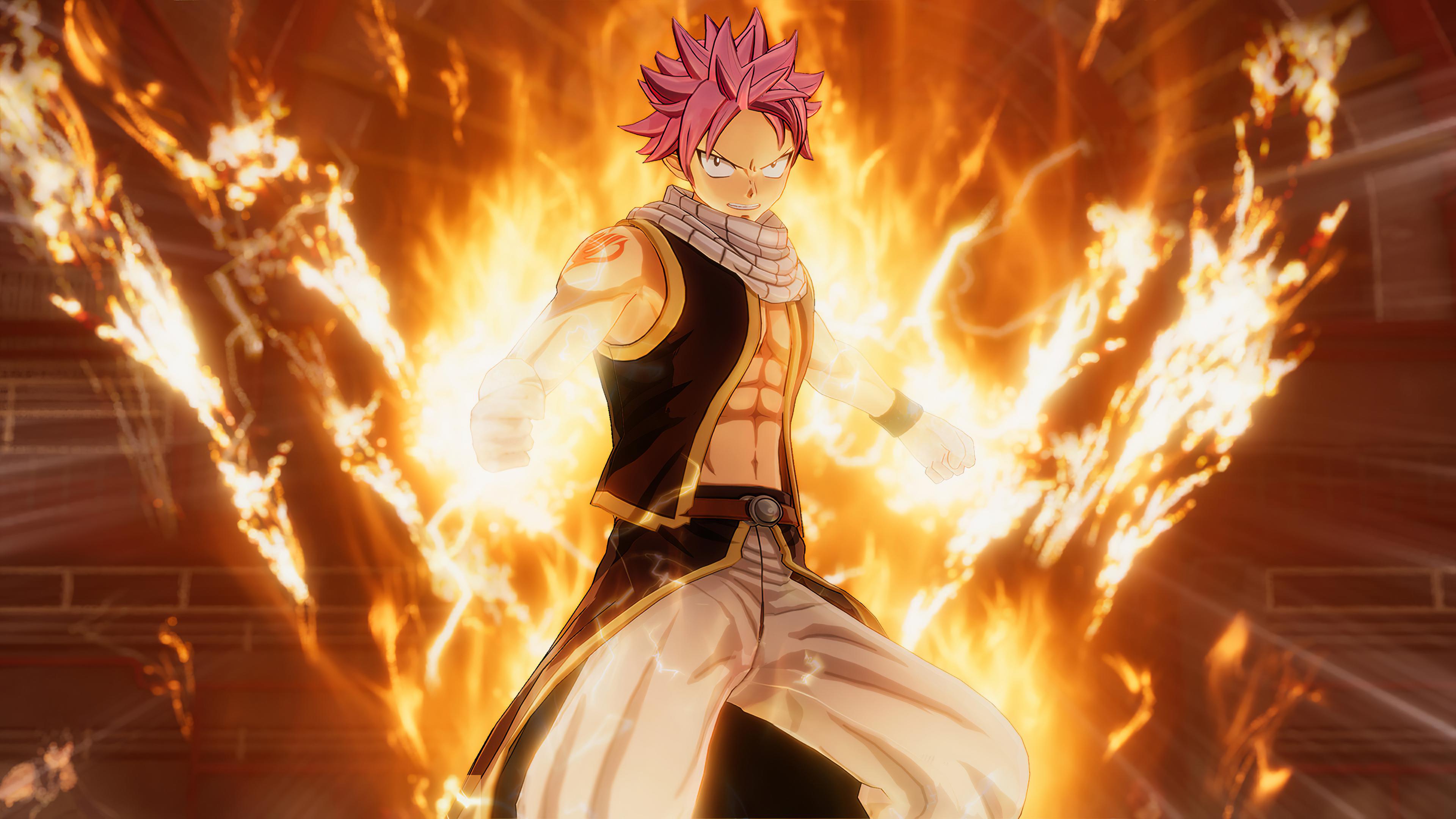 Natsu Dragneel Fairy Tail, HD Anime, 4k