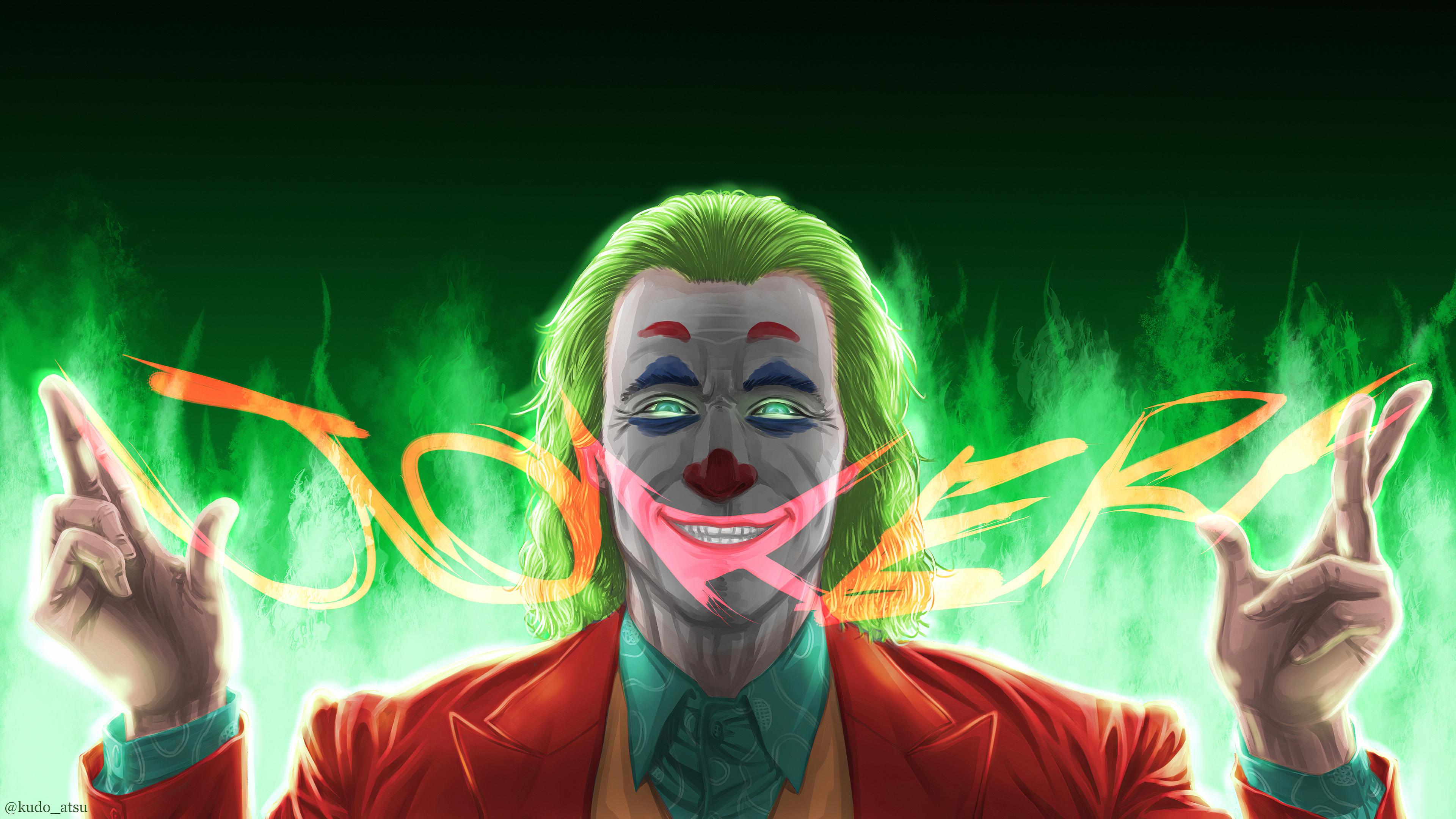 3840x2160 New Joker 4kartwork 4k HD 4k Wallpapers, Images ...