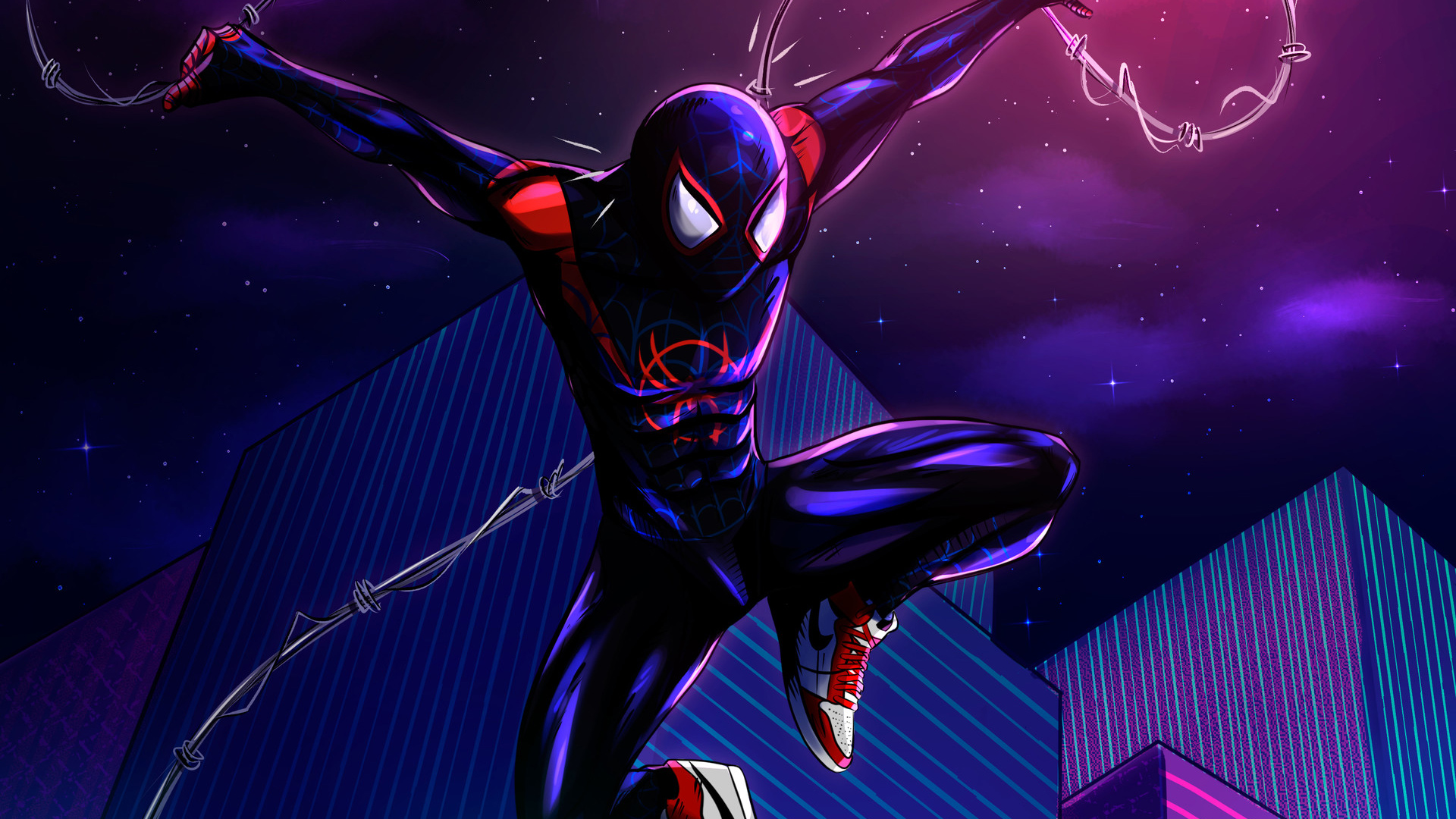 New Spider Verse Arts Hd Superheroes 4k Wallpapers Images