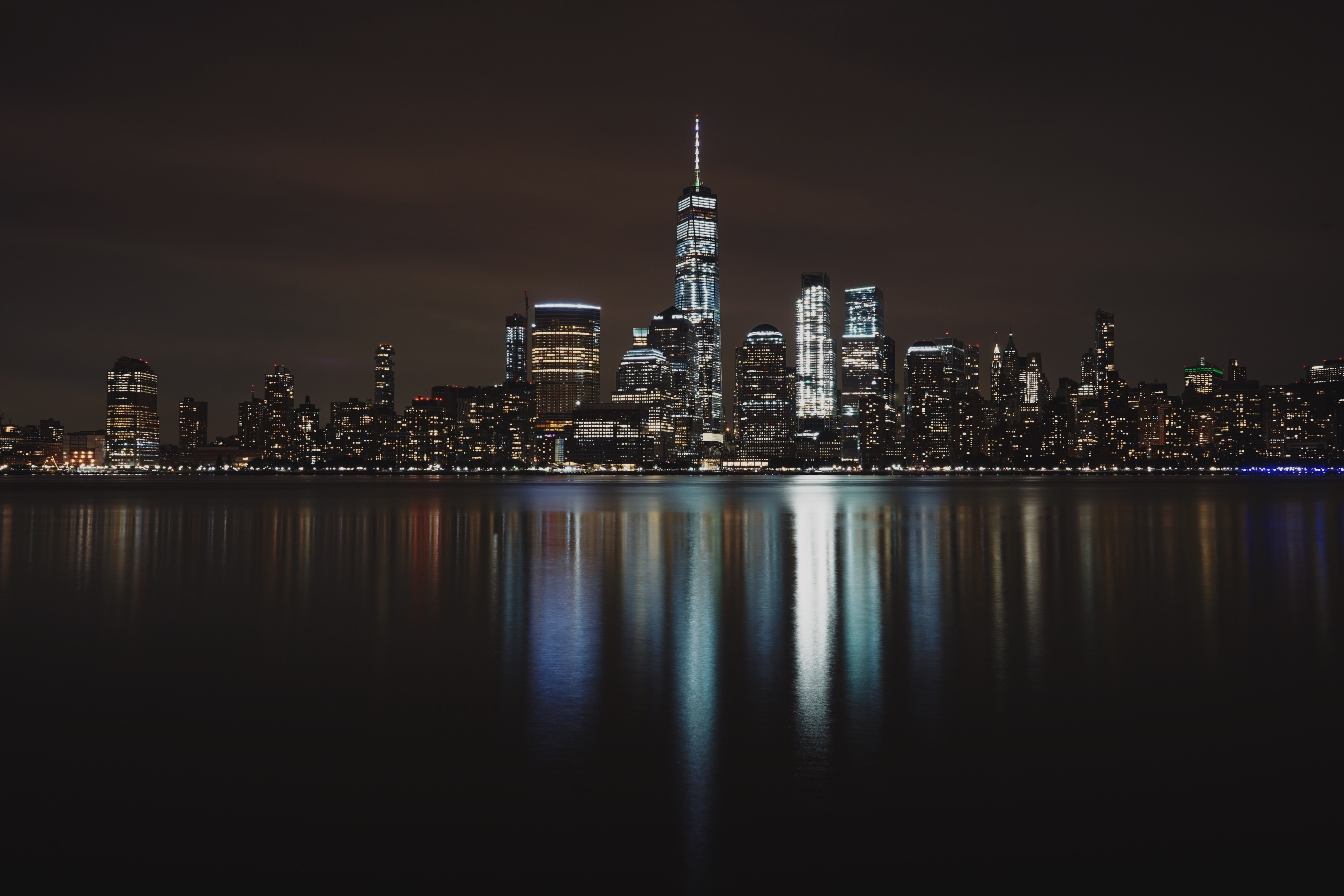 New York City Night Hd World 4k Wallpapers Images Backgrounds Photos And Pictures