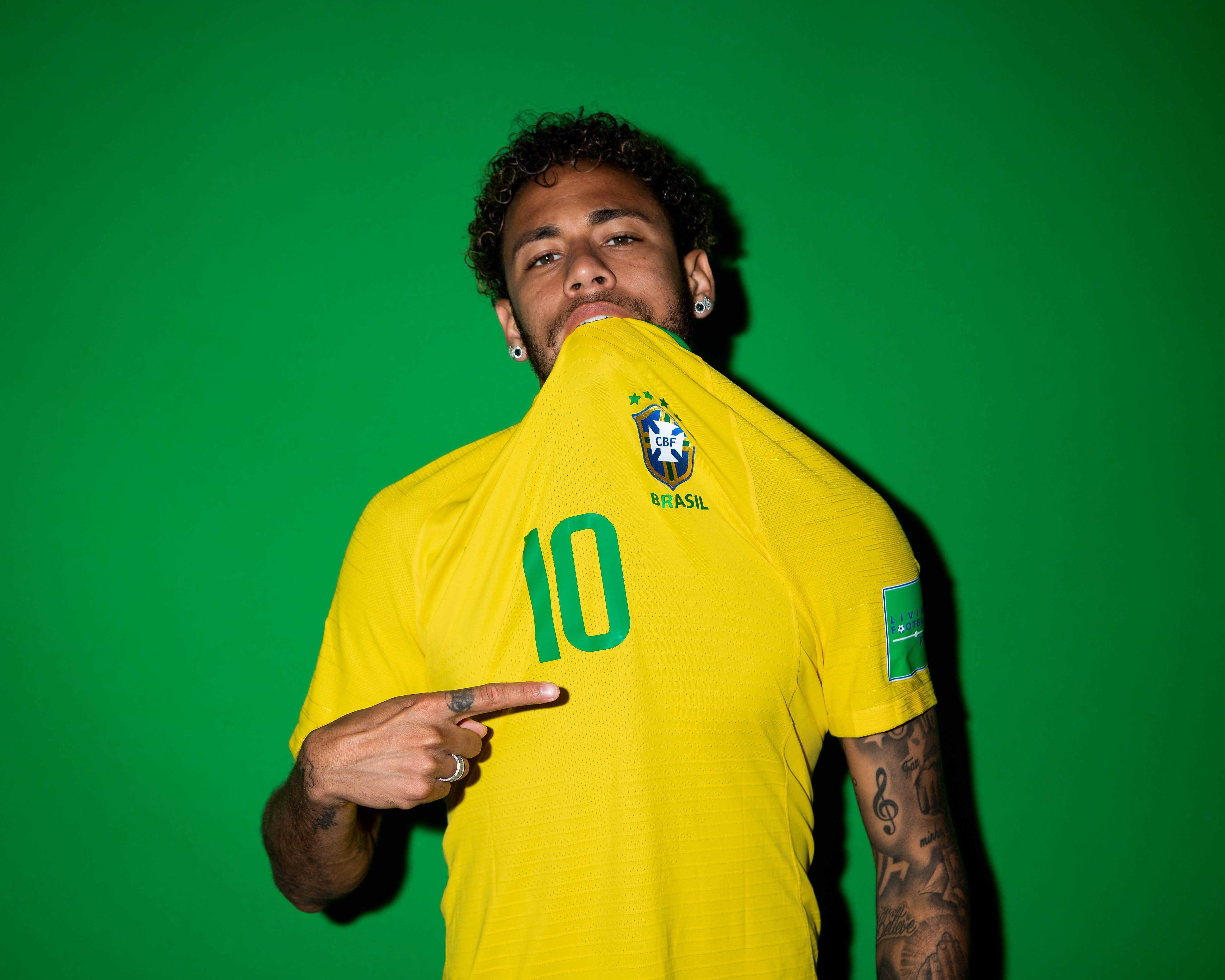 Neymar Jr Brazil Portraits 2018, HD Sports, 4k Wallpapers ...
