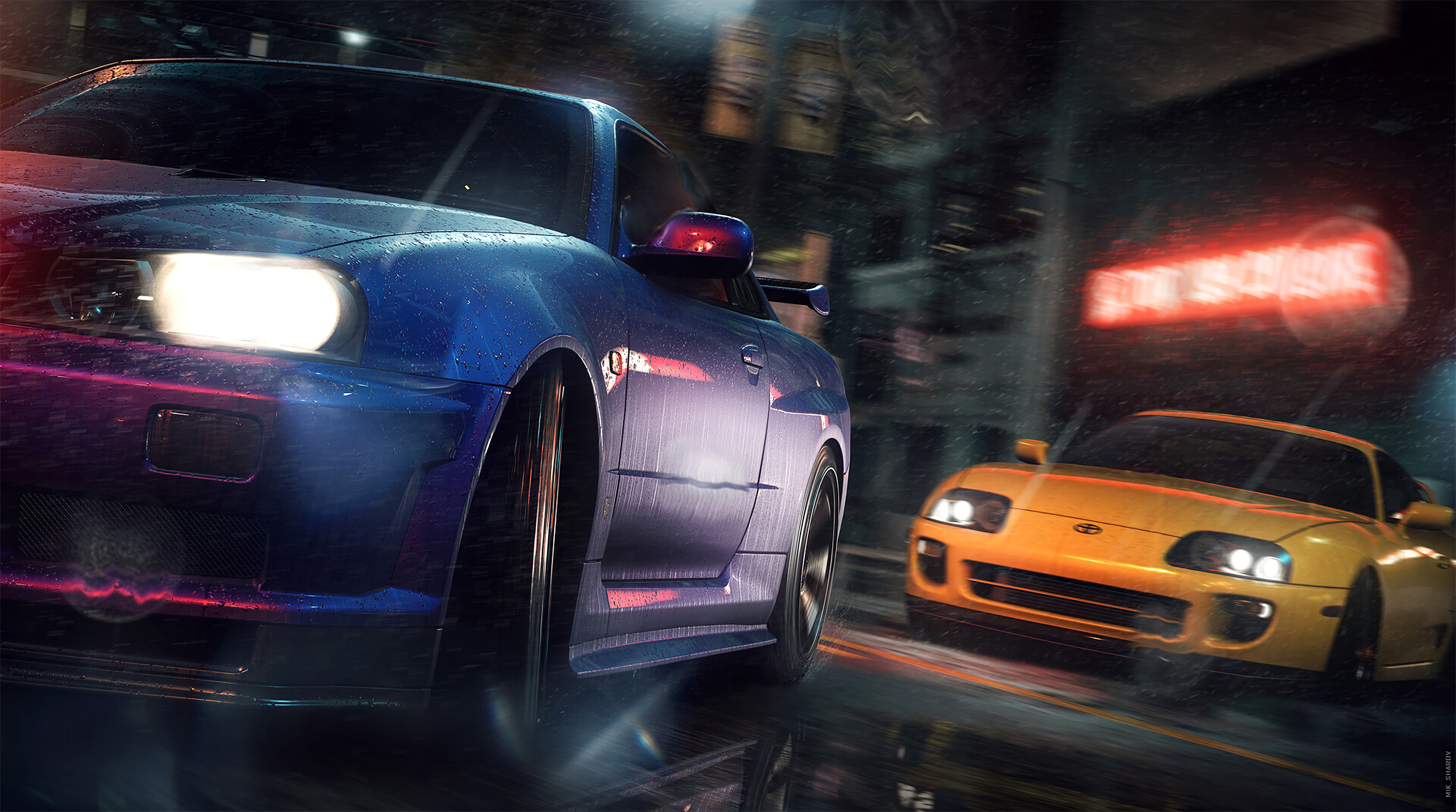 Nfs Underground 4k Hd Games 4k Wallpapers Images Backgrounds