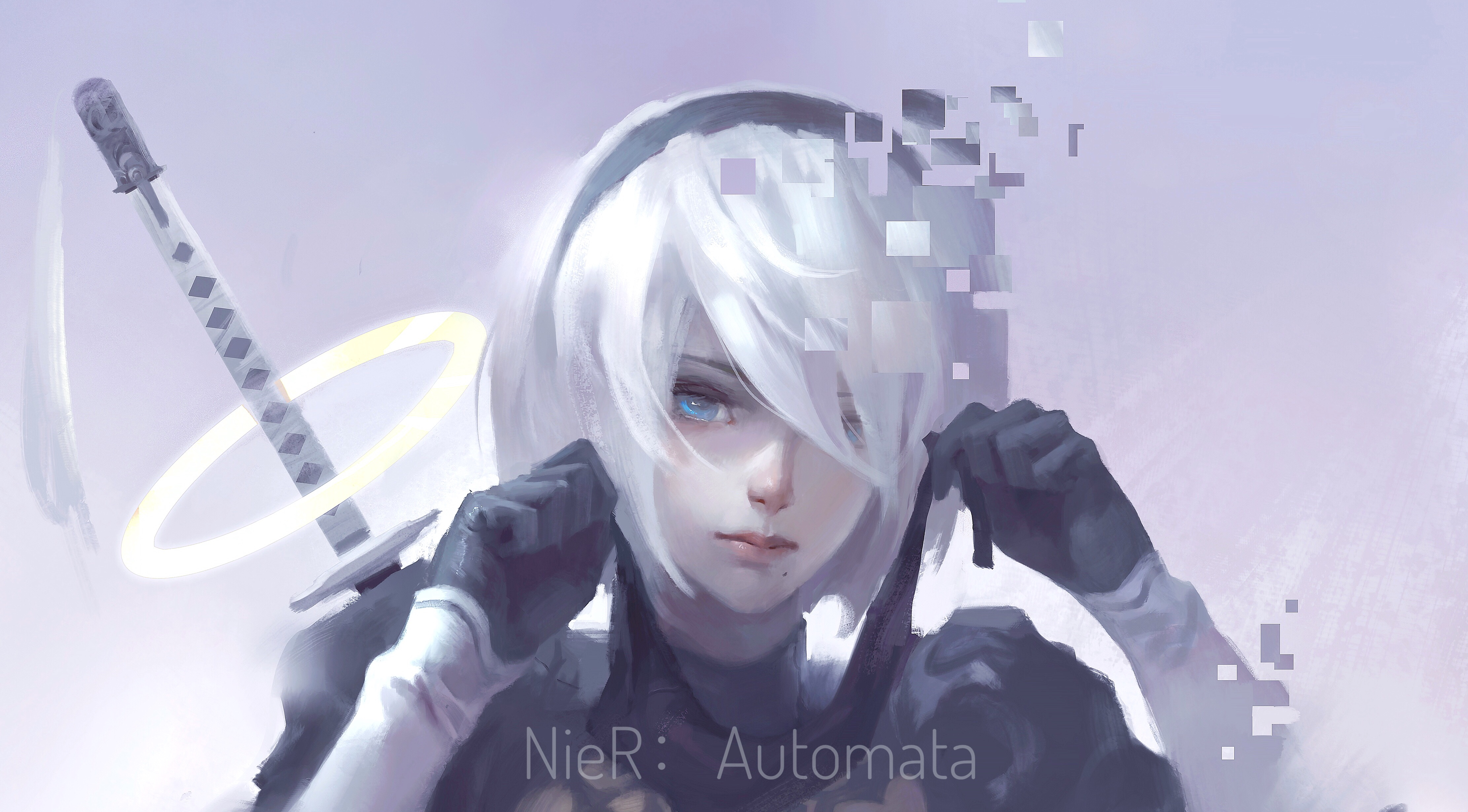 Nier Automata 4k Artworks Hd Anime 4k Wallpapers Images